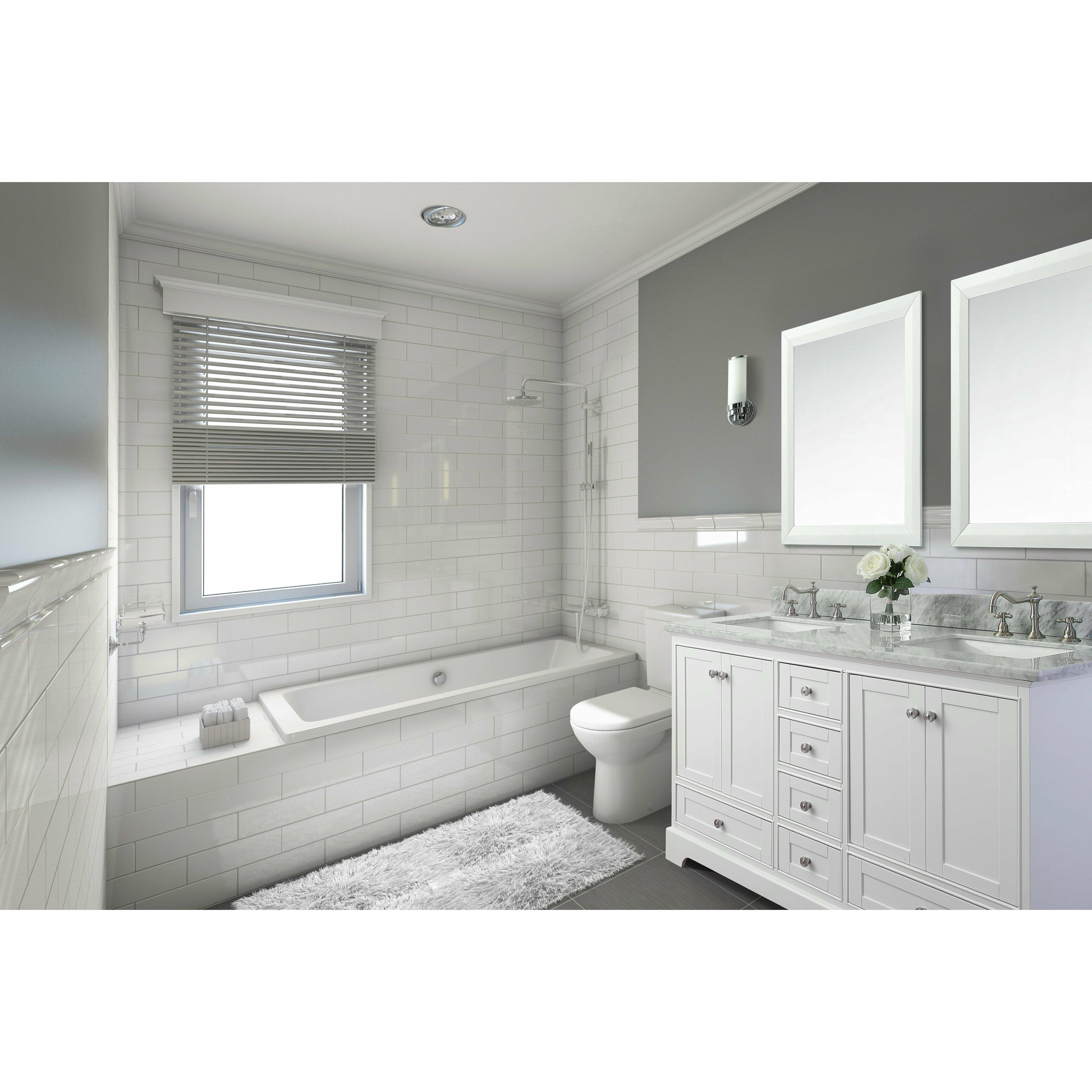 "Ancerre Designs Audrey 72"" Bath Vanity Set With Italian"