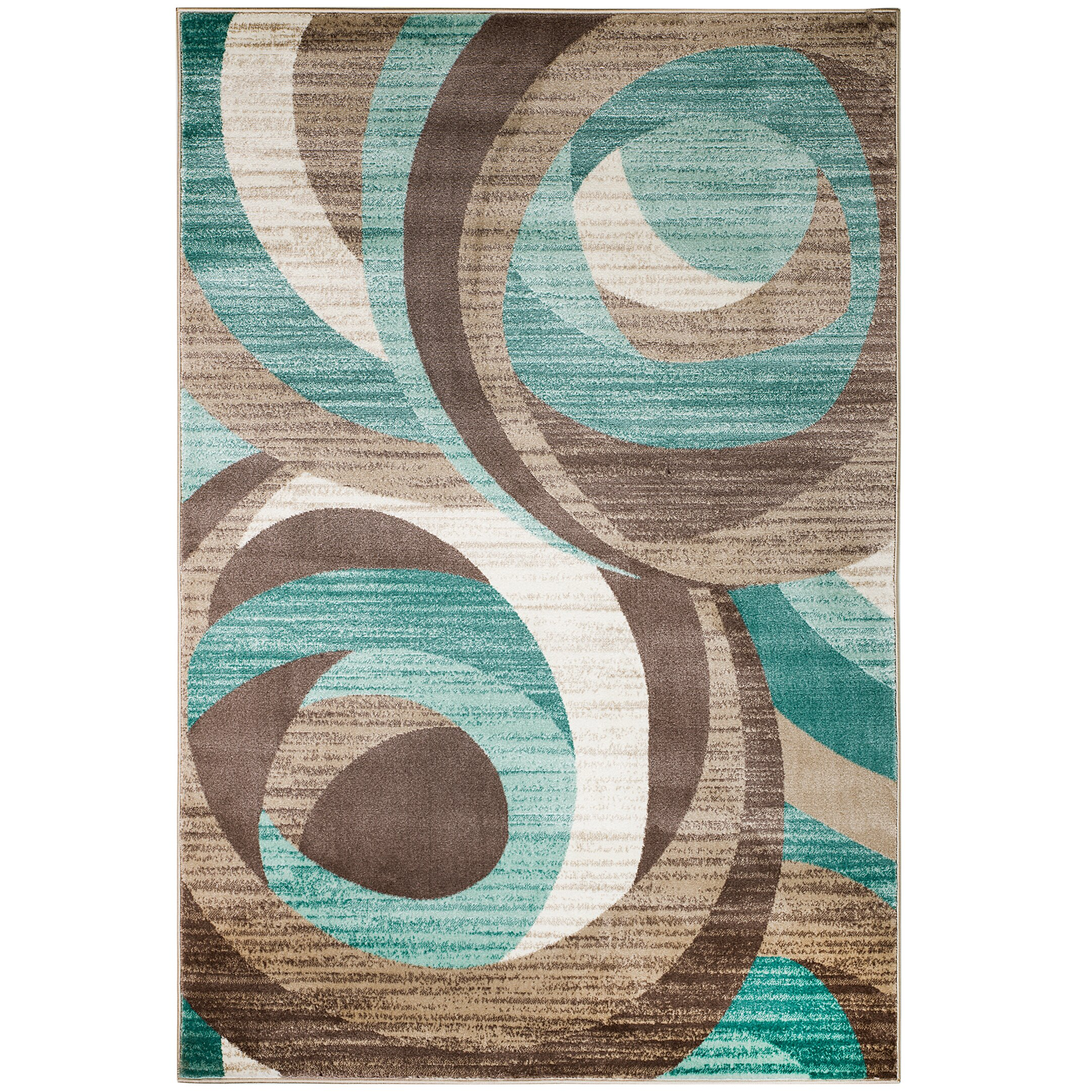 Rug and decor inc summit teal area rug amp reviews wayfair