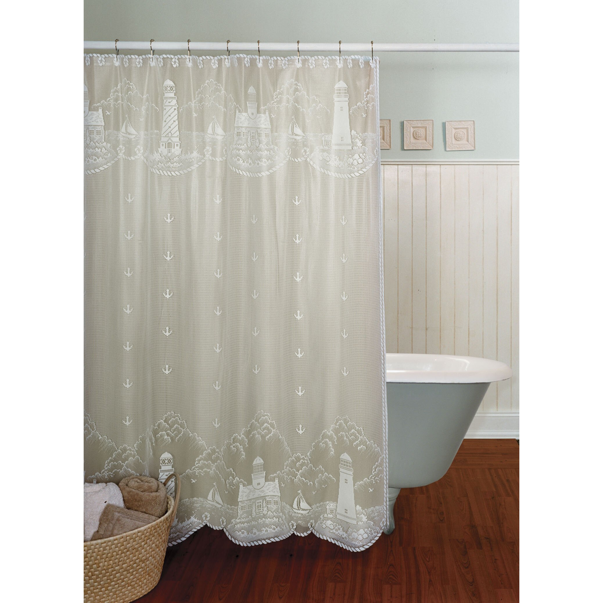 Nautica palmetto bay stripe shower curtain from beddingstyle com - The Bay Shower Curtains Curtain Menzilperde