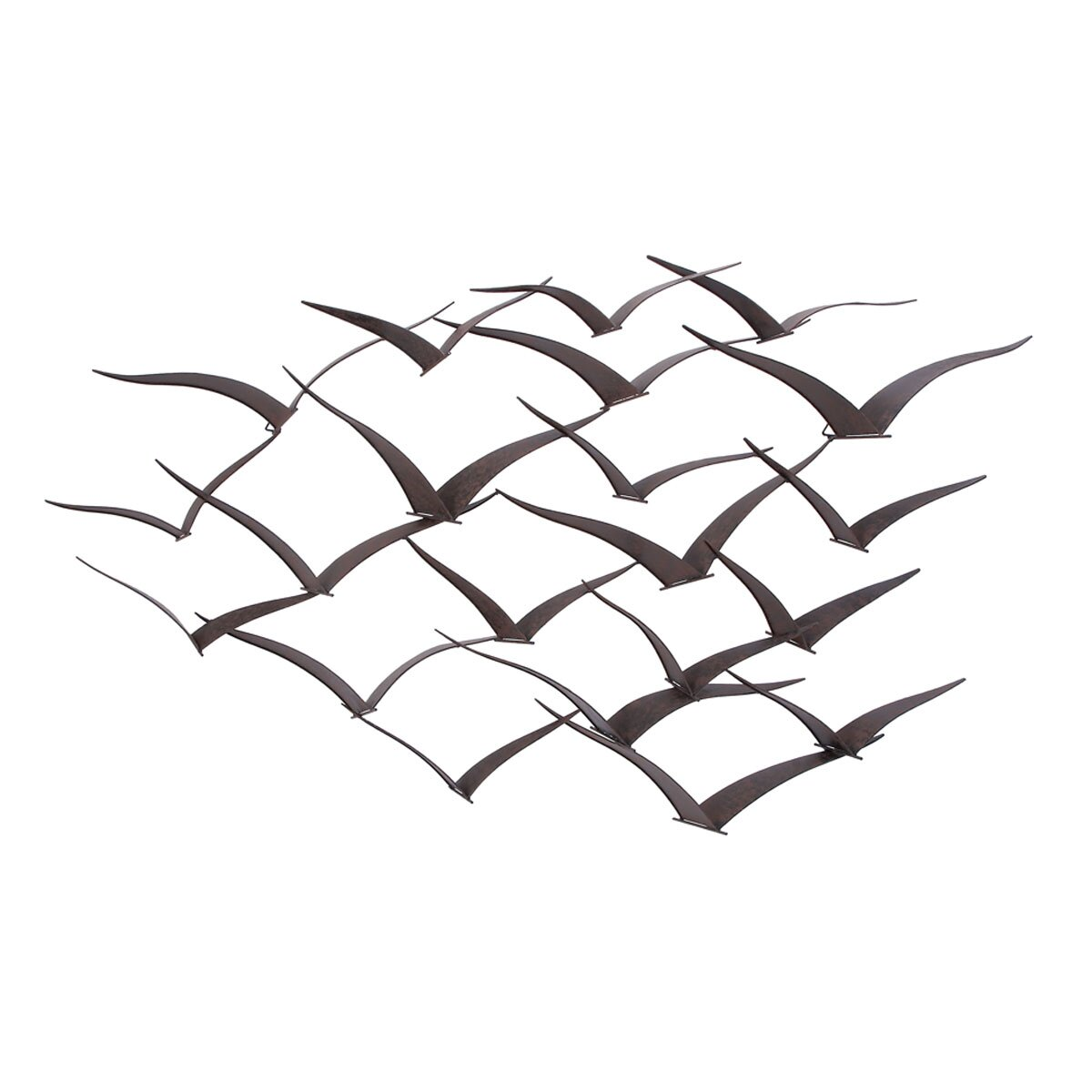 Breakwater Bay Black Metal Birds Wall Du0026eacute;cor