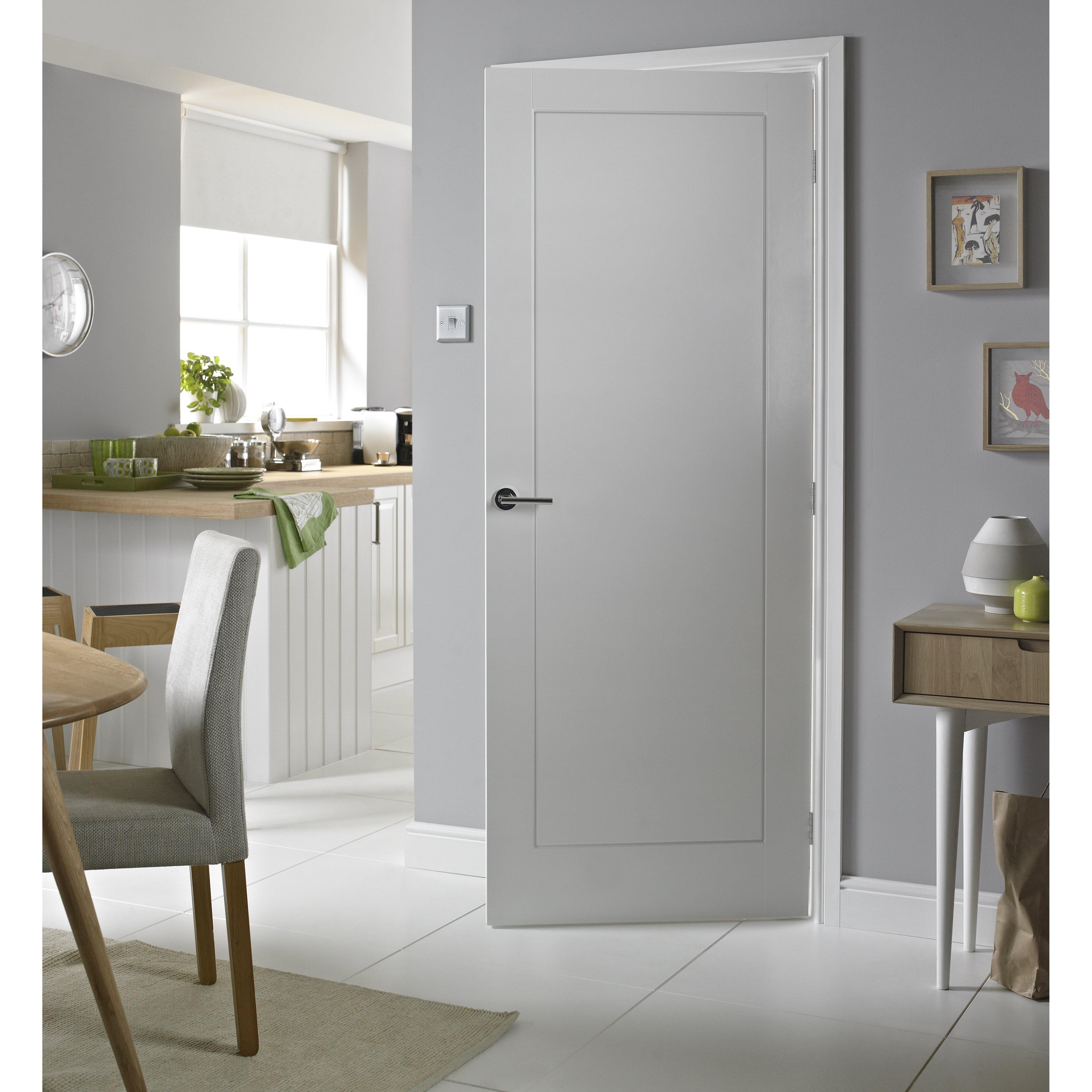 premdor 1 panel white smooth internal door reviews. Black Bedroom Furniture Sets. Home Design Ideas