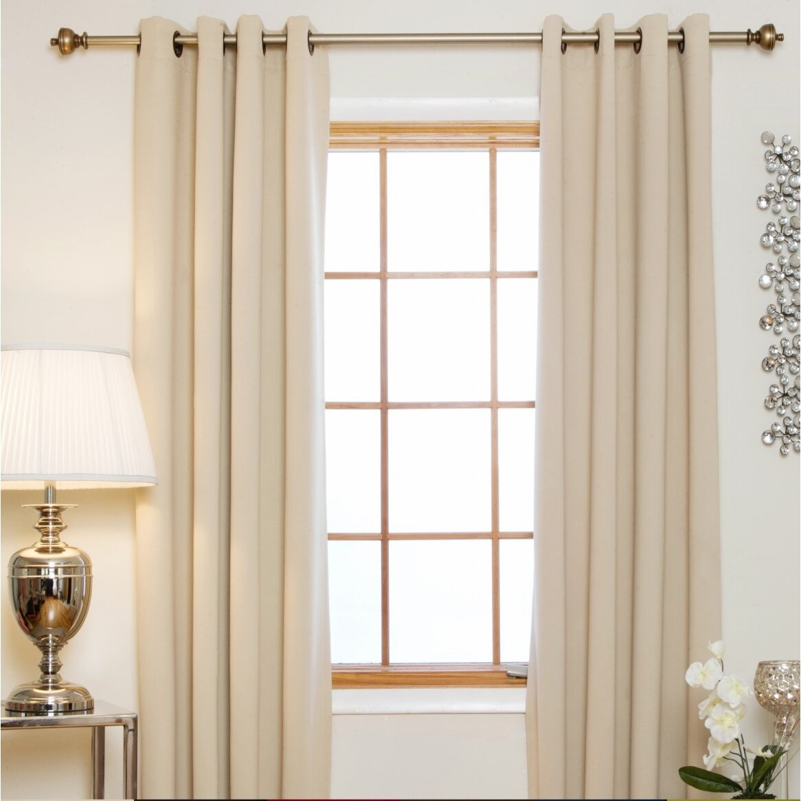 blackout curtain grommet top thermal curtain panel reviews wayfair