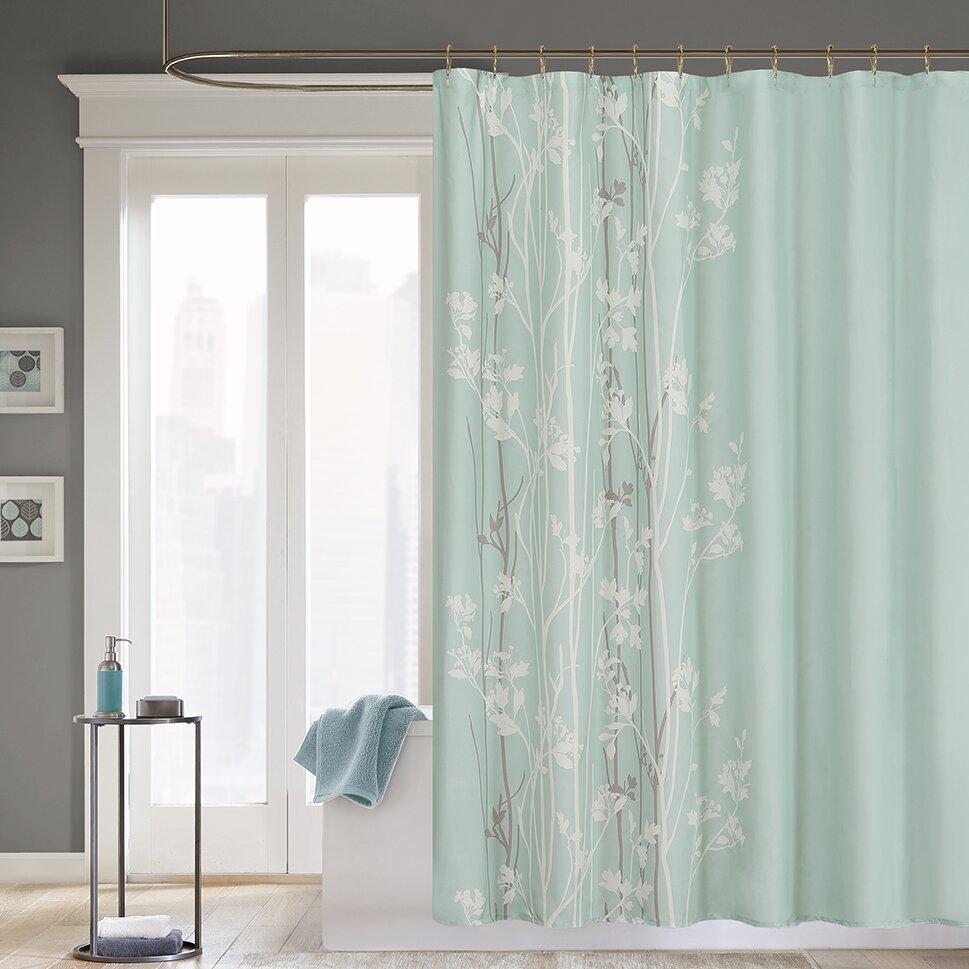 Madison Park Athena Shower Curtain  Reviews Wayfair - Shower curtain