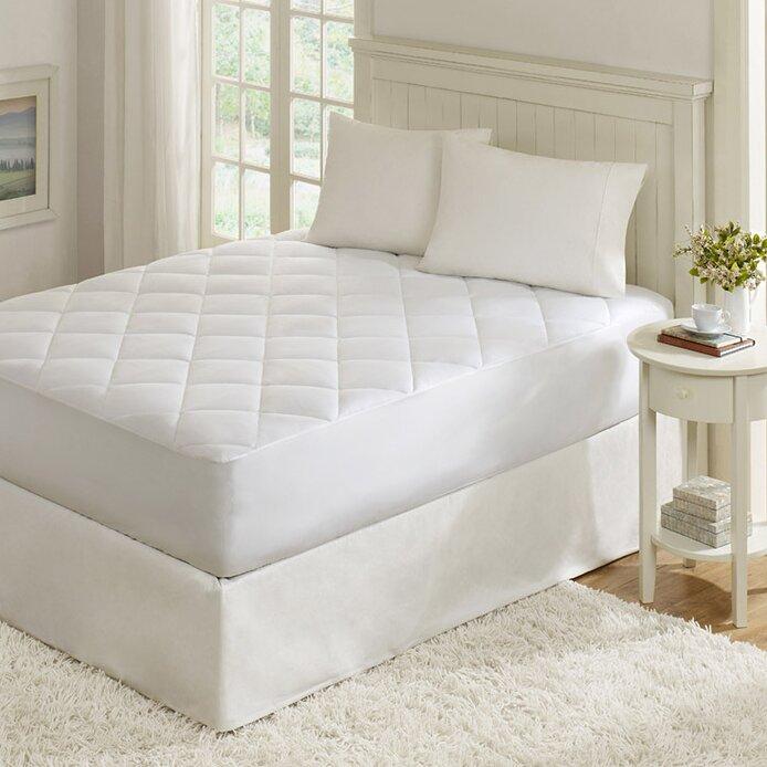 madison park quiet nights 300 thread count waterproof mattress pad