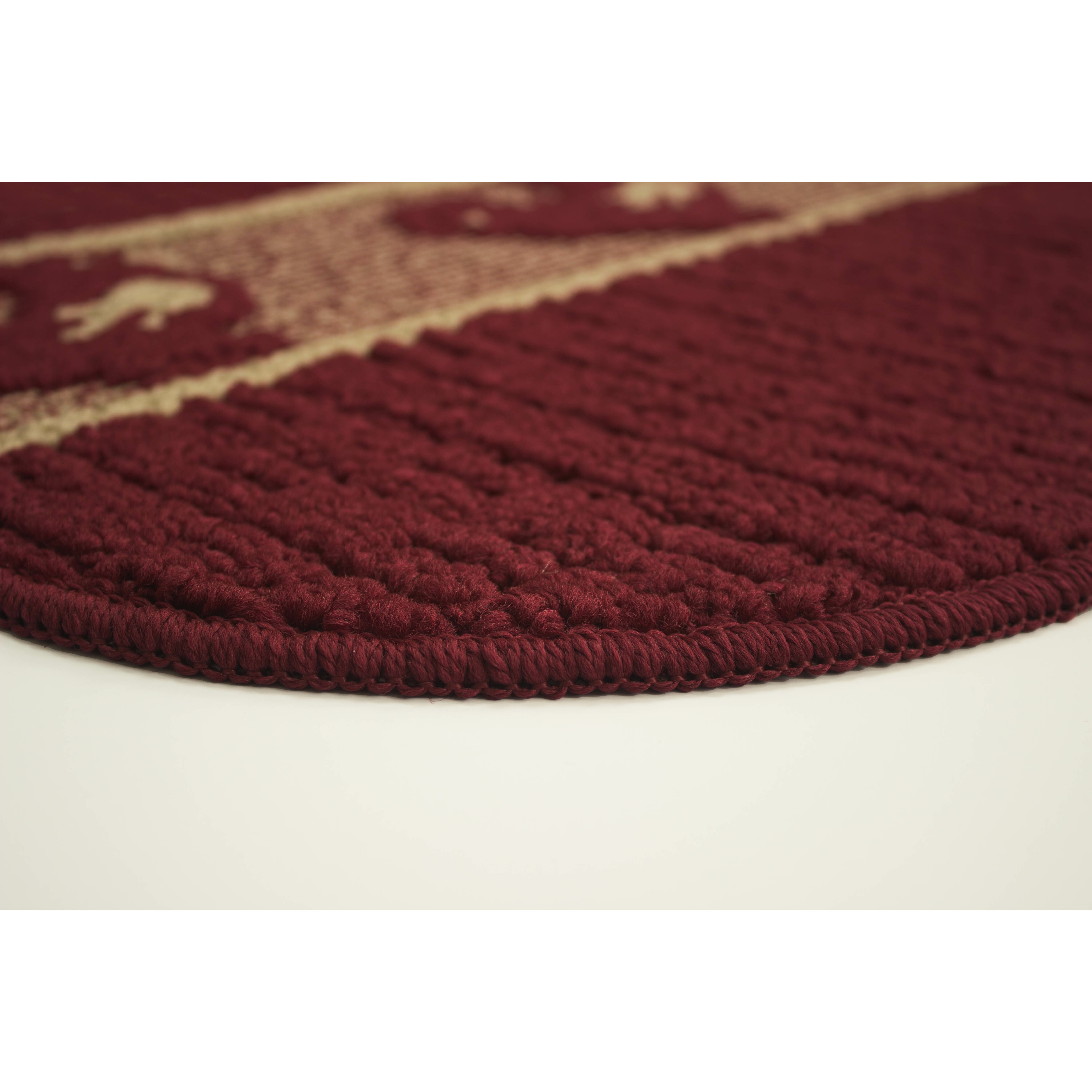Red Kitchen Rugs And Mats Structures Structures Textured Loop Wedge Kitchen Mat Wayfair