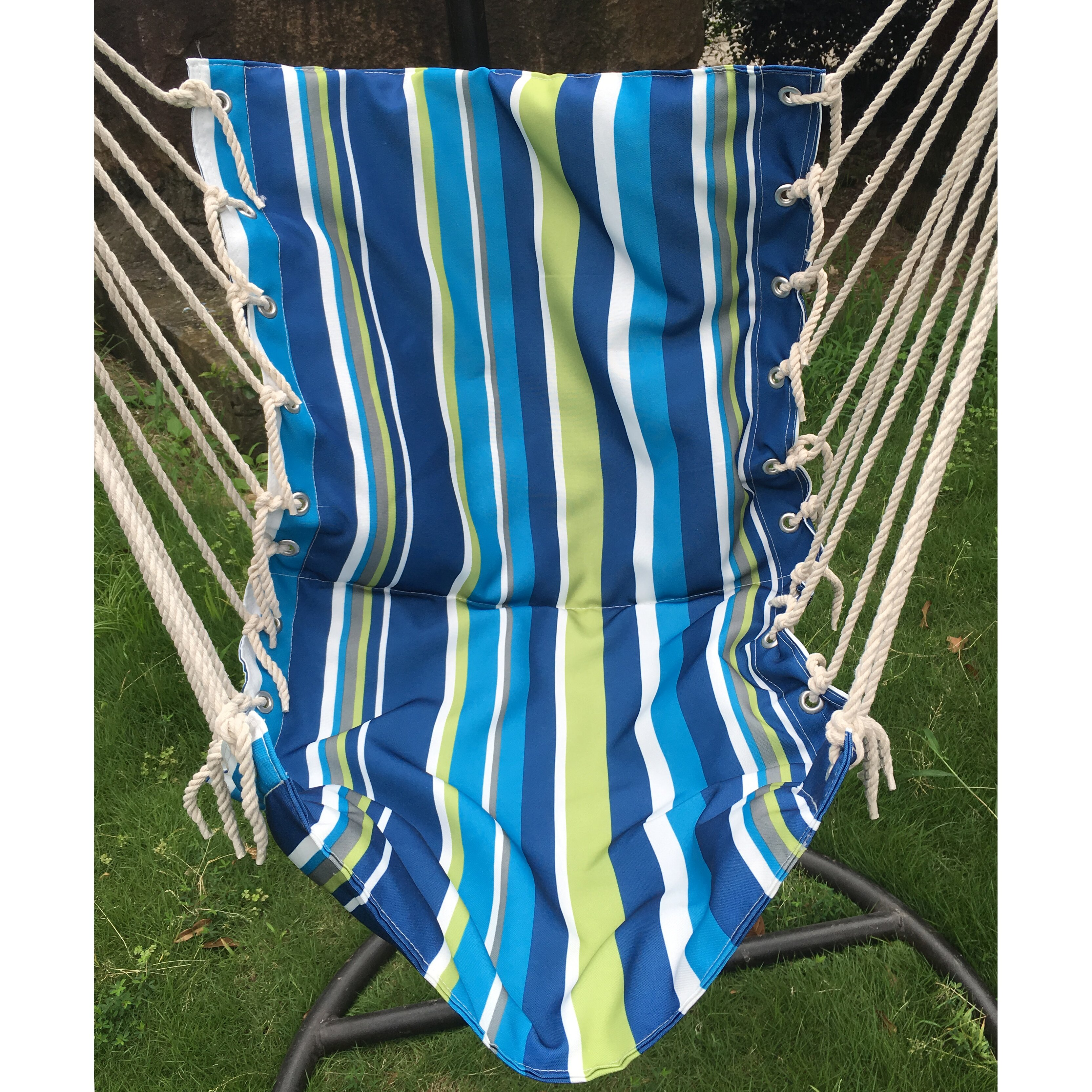 AttractionDesignHome Cotton and Polyester Chair Hammock Wayfair