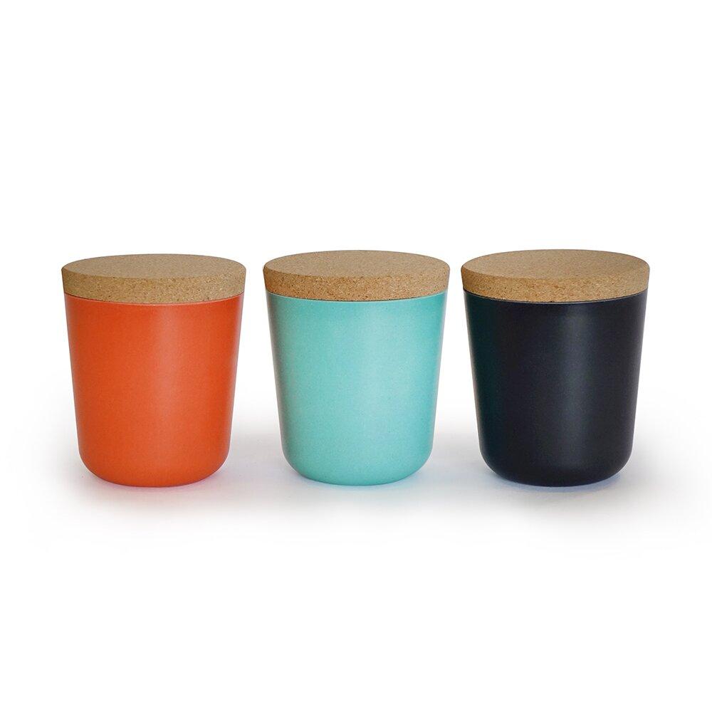 biobu by ekobo gusto 15 oz storage jar reviews wayfair. Black Bedroom Furniture Sets. Home Design Ideas