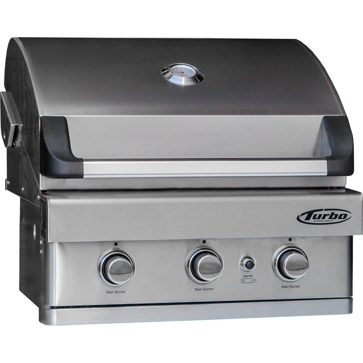 Barbeques Galore Turbo 3 Burner Built In Gas Grill