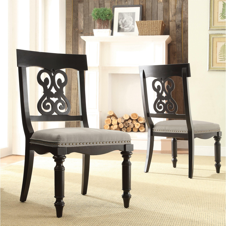 Side Chairs Living Room Rosalind Wheeler Beckles Side Chair Reviews Wayfair
