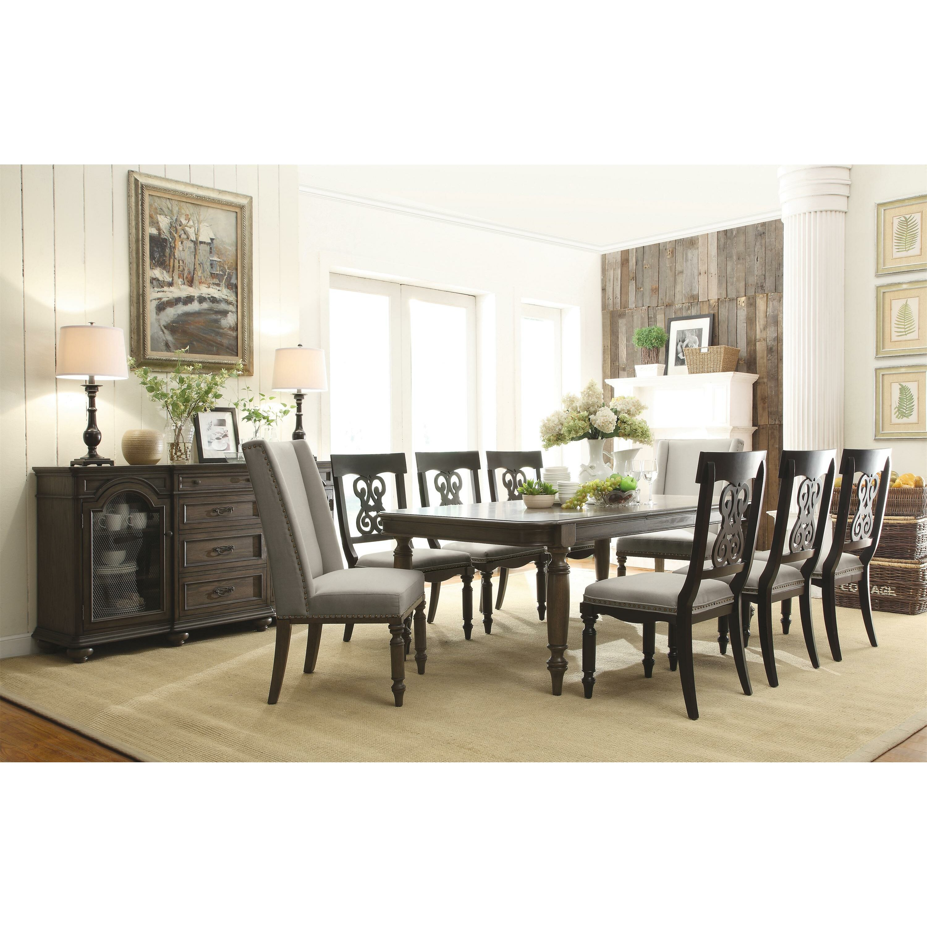 Piece Dining Room Table  Dactus - 9 piece dining room sets