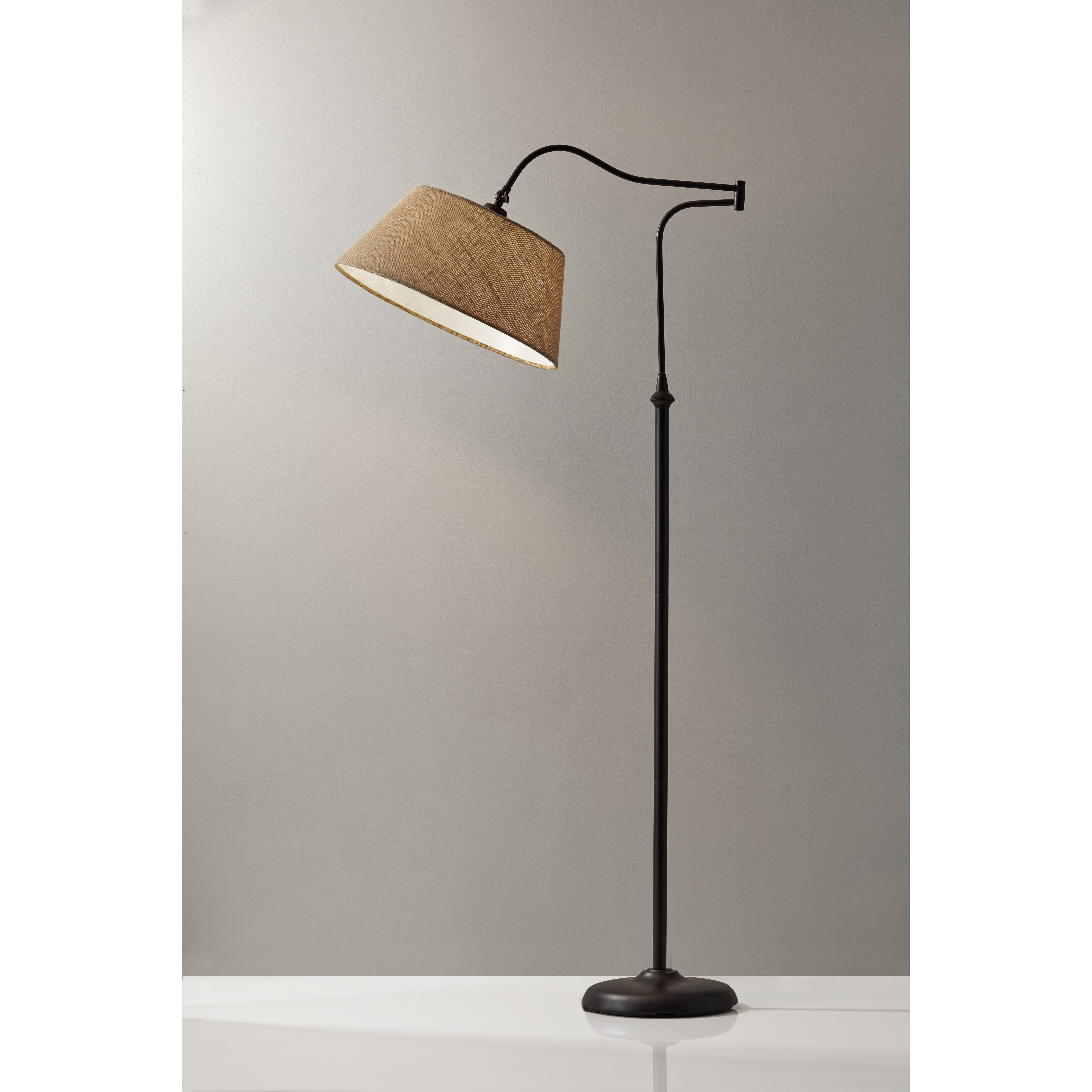 "Bay Isle Home Valencia 61"" Swing Arm Floor Lamp & Reviews ..."