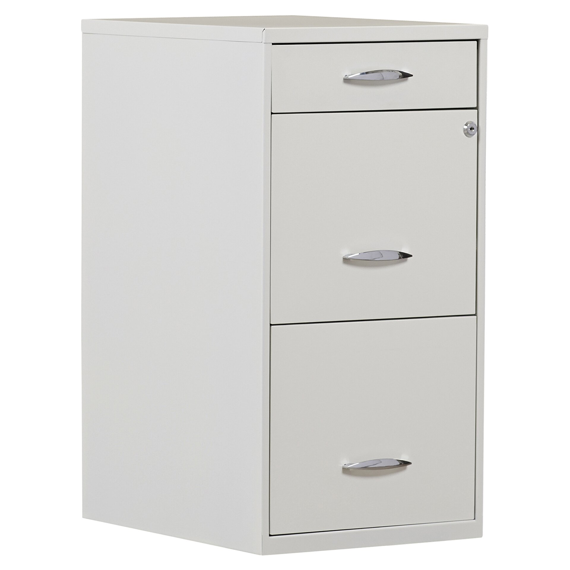 File Cabinet Symple Stuff Steel 3 Drawer Filing Cabinet Reviews Wayfair