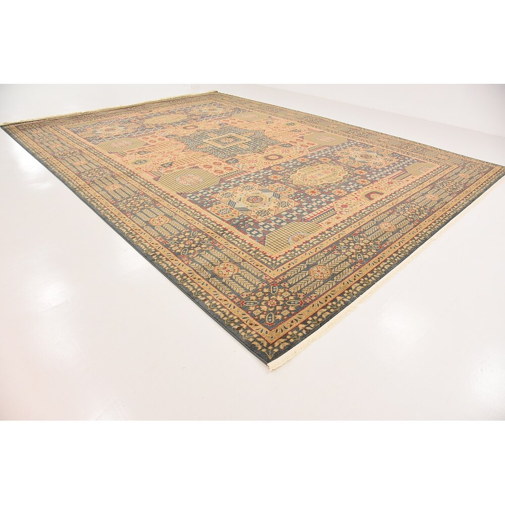 Astoria Grand Laurelwood Blue Area Rug Amp Reviews Wayfair