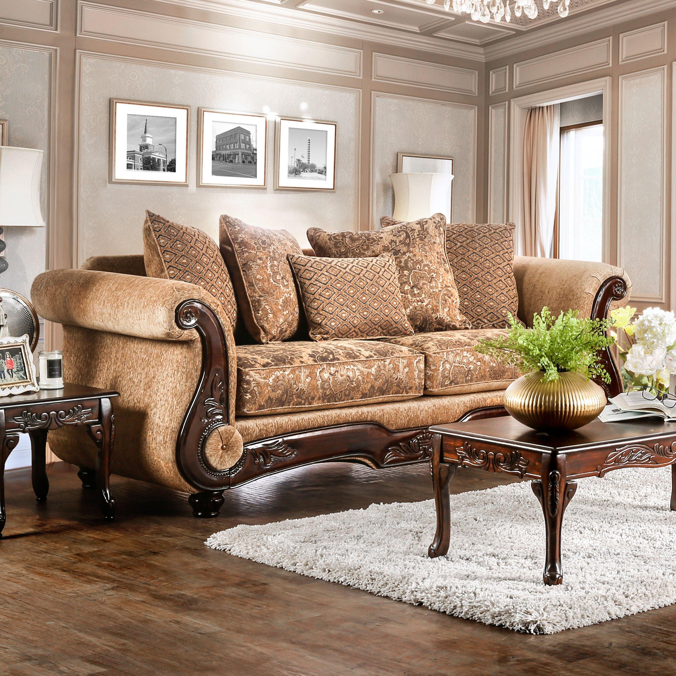 Traditional Sofas Living Room Furniture Astoria Grand Dolph Traditional Sofa Reviews Wayfair