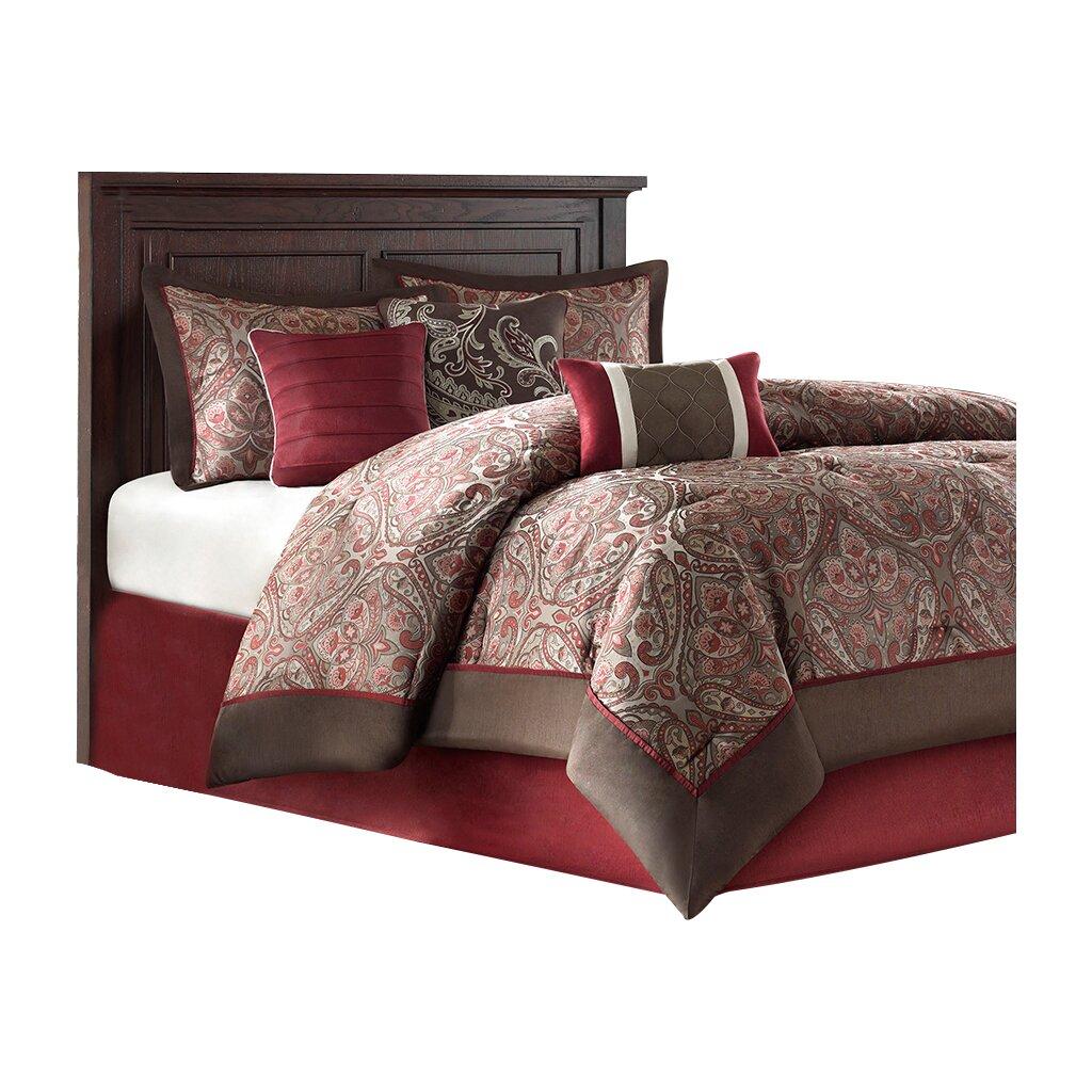 astoria grand fenton 7 piece comforter set reviews wayfair. Black Bedroom Furniture Sets. Home Design Ideas