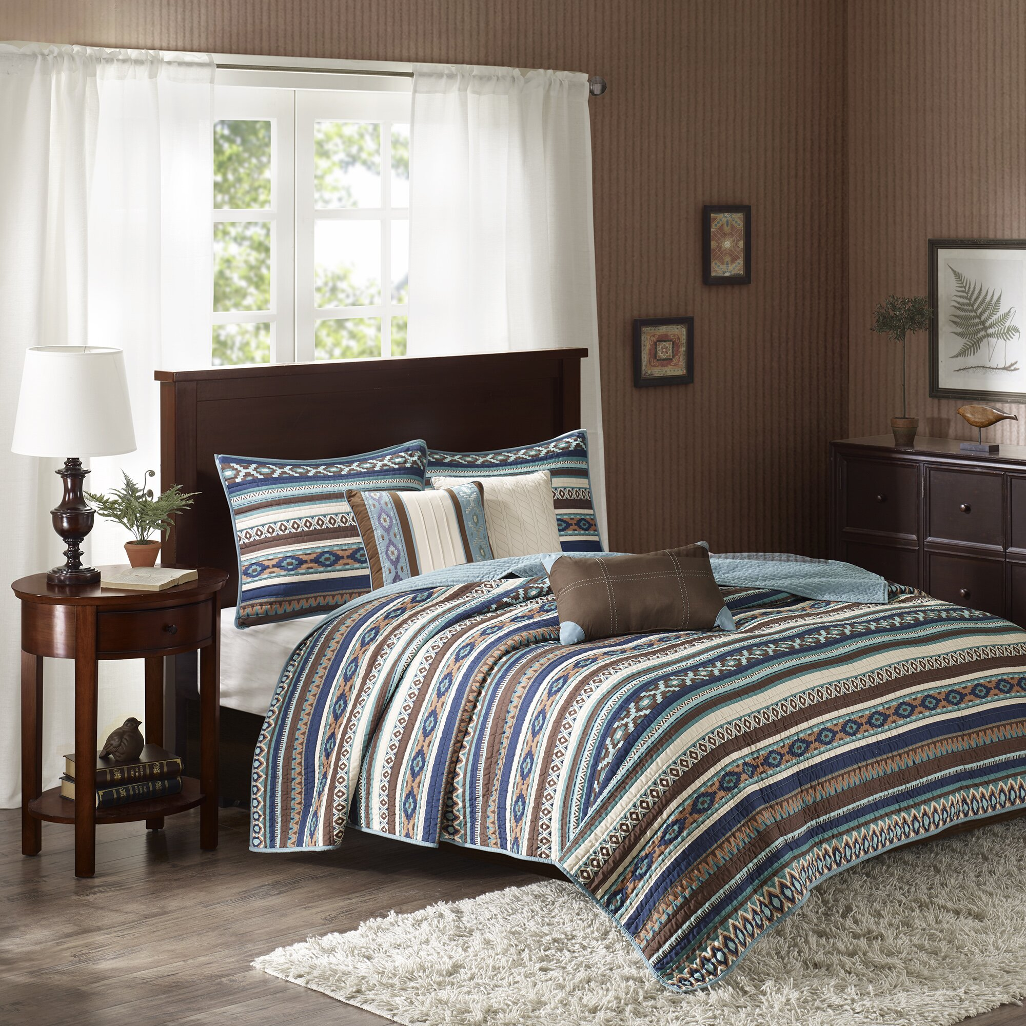 World Menagerie Florence 6 Piece Quilted Coverlet Set Reviews