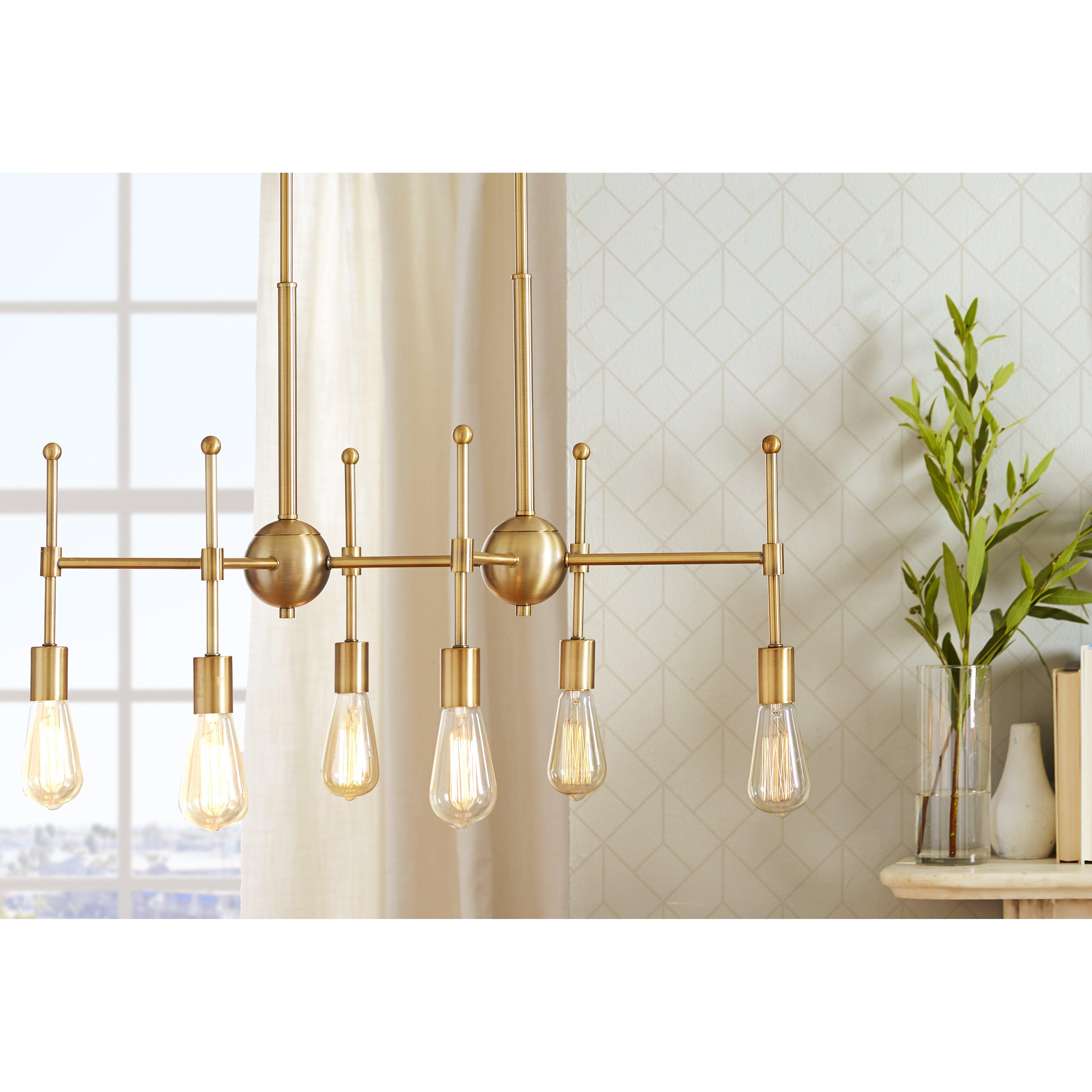 st helens light kitchen island pendant  reviews  allmodern, Lighting ideas