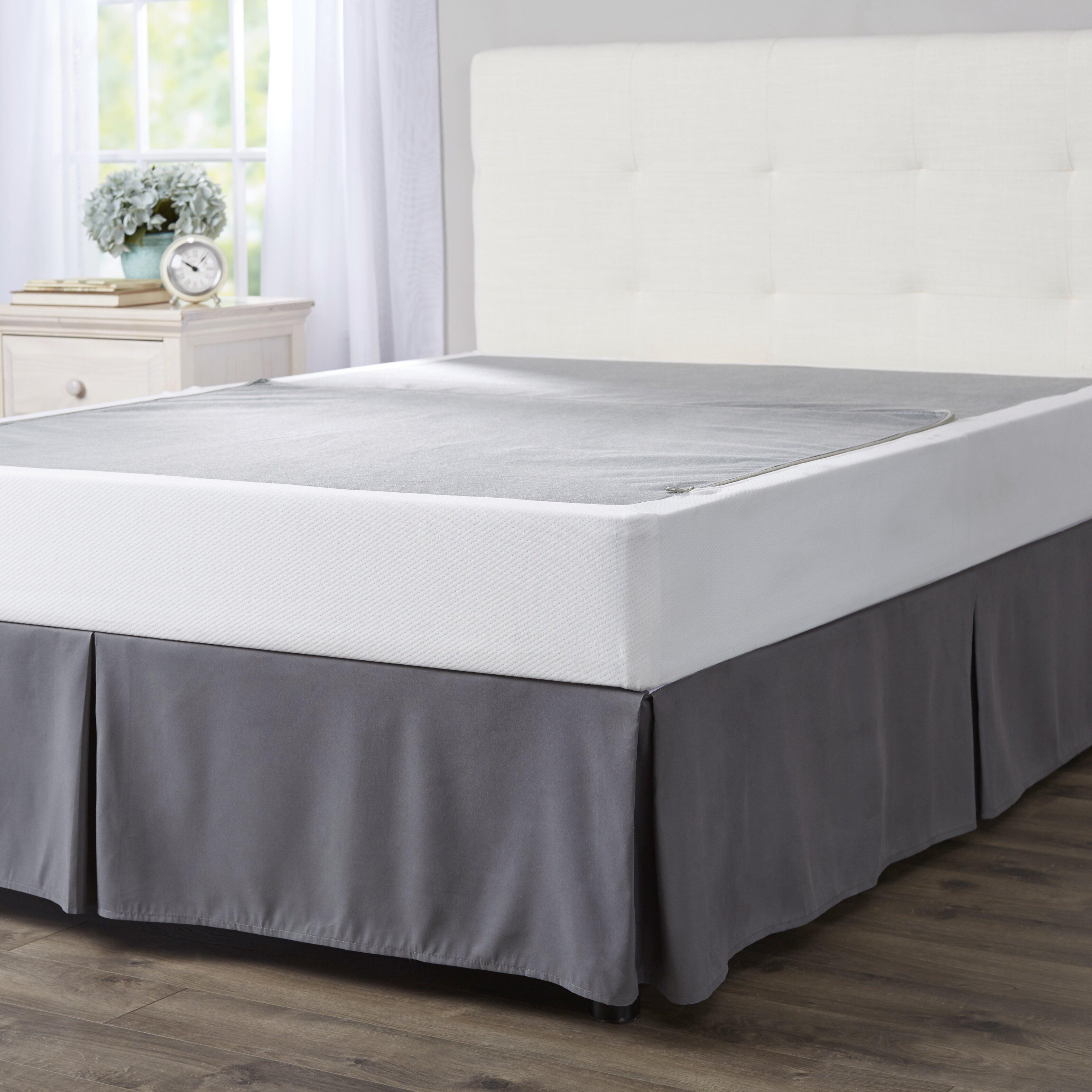 wayfair sleep wayfair sleep folding box spring reviews wayfair. Black Bedroom Furniture Sets. Home Design Ideas