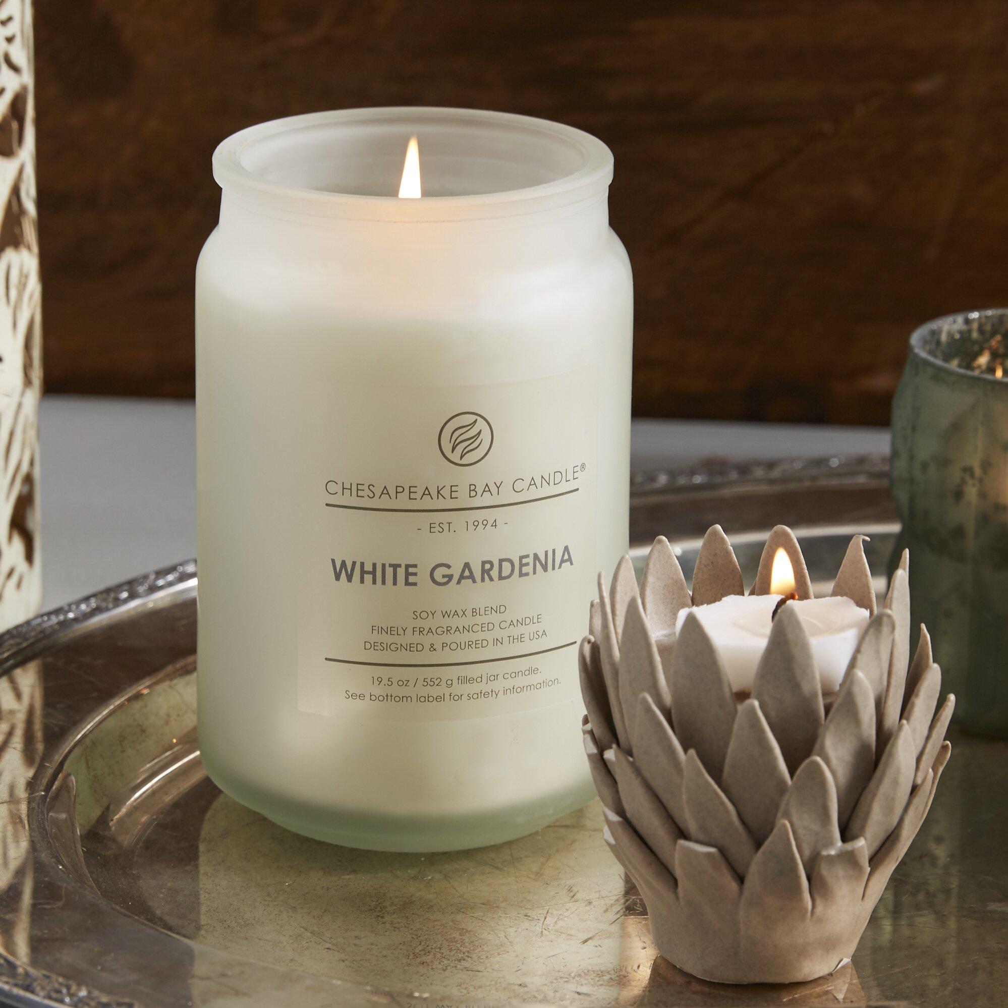 Chesapeake Bay Candle Hertitage White Gardenia Jar Candle ...