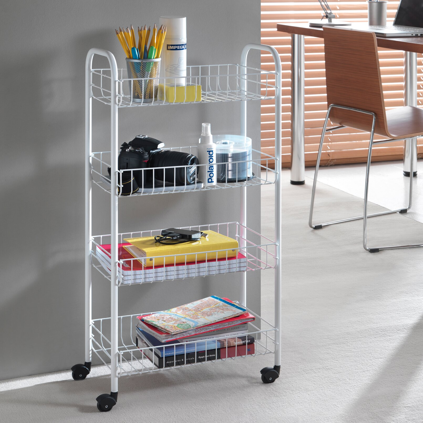 Kitchen Trolley Metaltex Kitchen Trolley Reviews Wayfaircouk