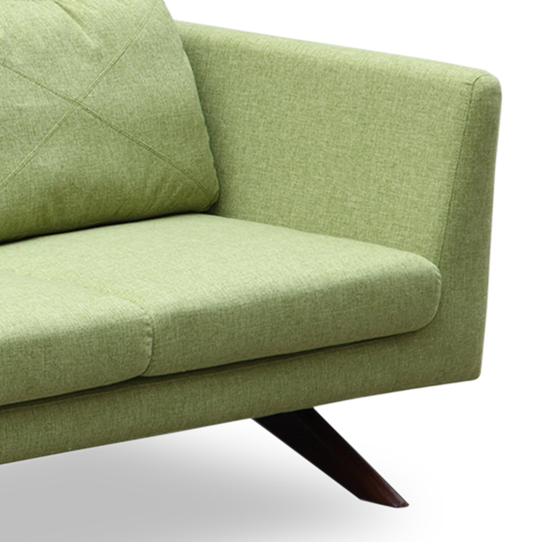 minimalist modern sleeper sofa choosed for modern green leat