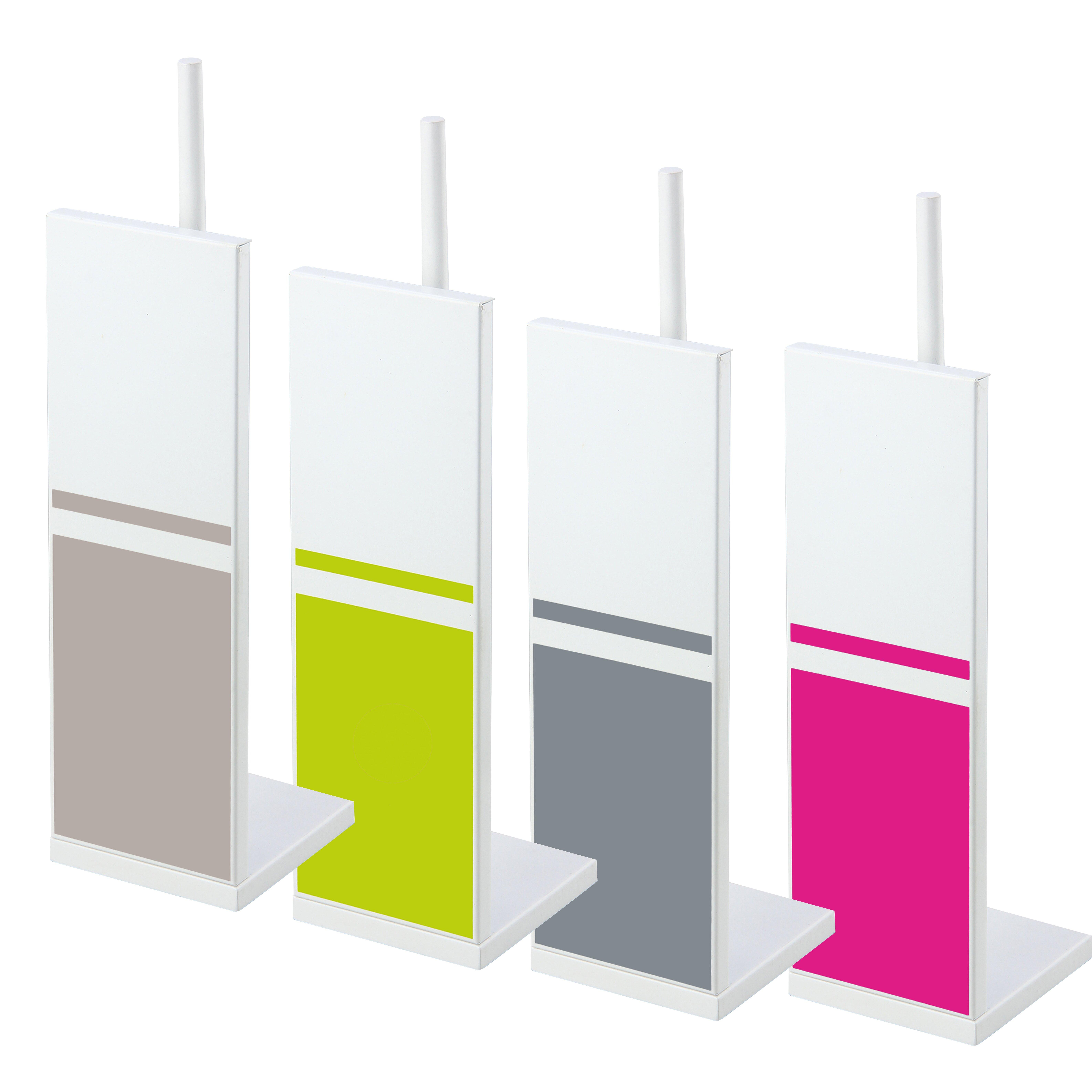 Evideco freestanding toilet tissue roll storage holder Glass toilet roll holder