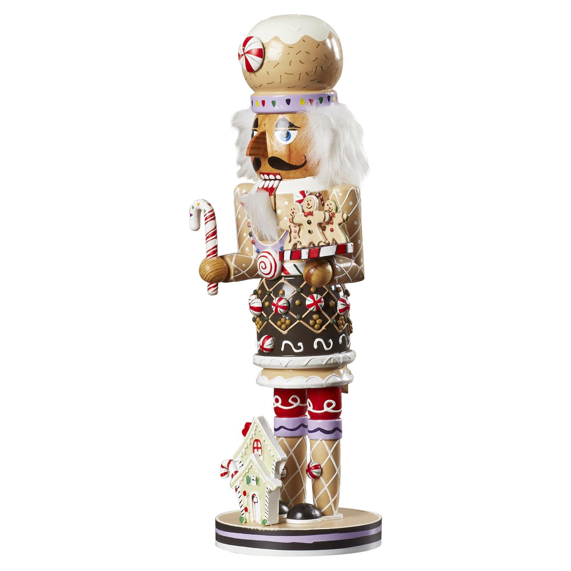 Gingerbread Kitchen Curtains The Holiday Aisle 16 Gingerbread Nutcracker Reviews Wayfair