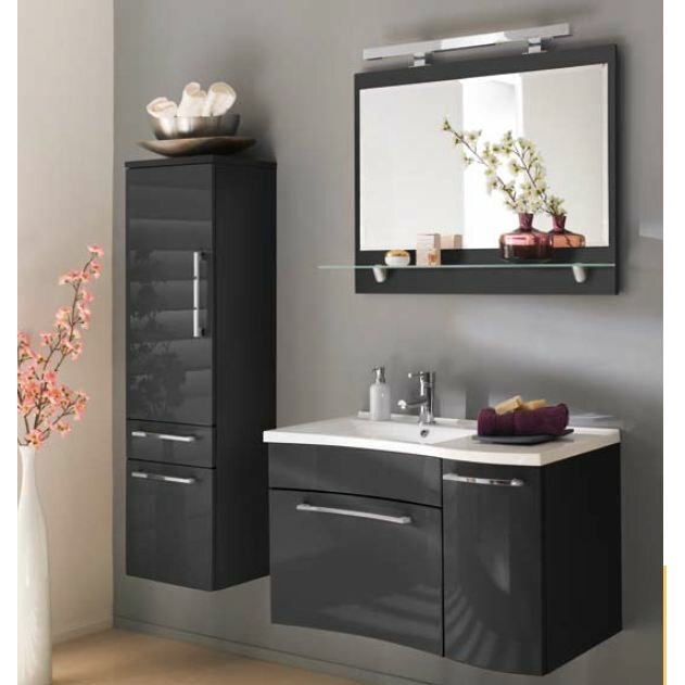 Belfry 40 X Wall Mounted Tall Bathroom Cabinet Reviews Wayfair Uk