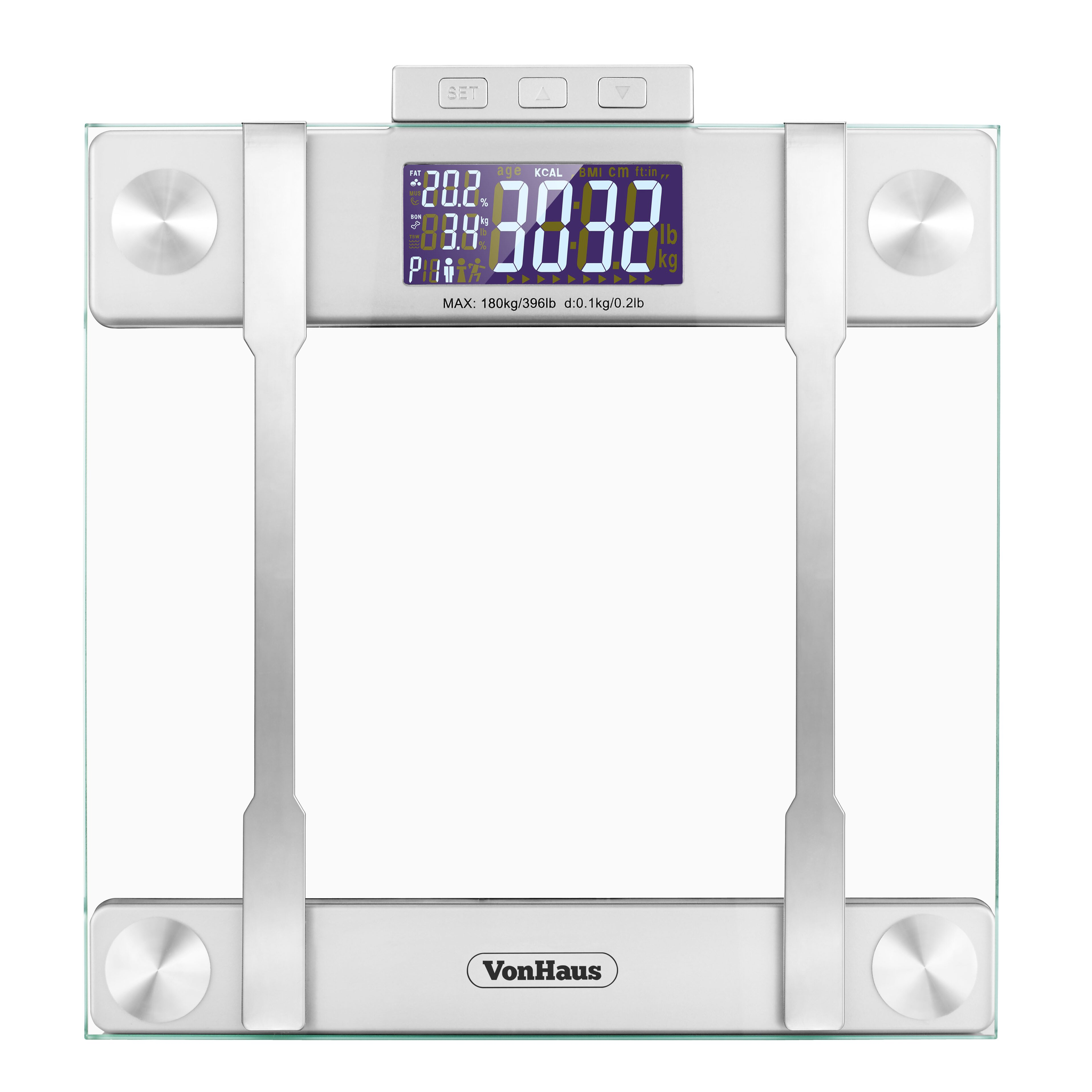 Vonhaus Bmi Body Fat Weight Scale & Reviews Wayfair