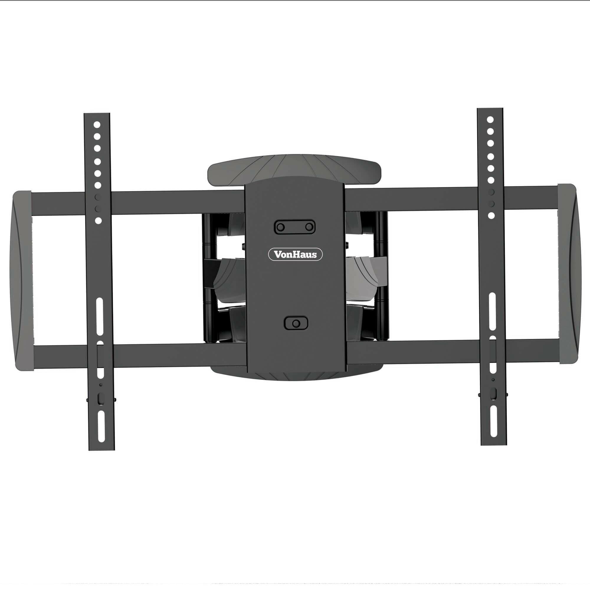 vonhaus premium double arm articulating tv wall mount 37 70 flat panel screens reviews wayfair. Black Bedroom Furniture Sets. Home Design Ideas