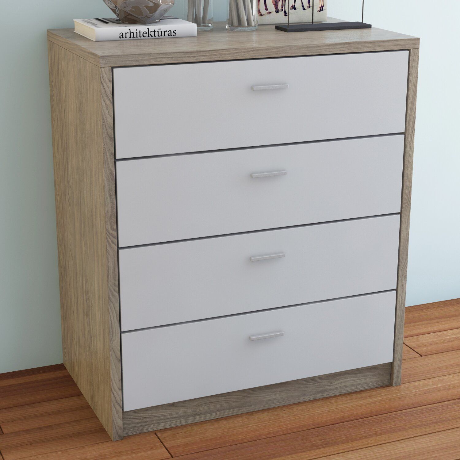 riley ave jade 4 drawer chest of drawers reviews. Black Bedroom Furniture Sets. Home Design Ideas