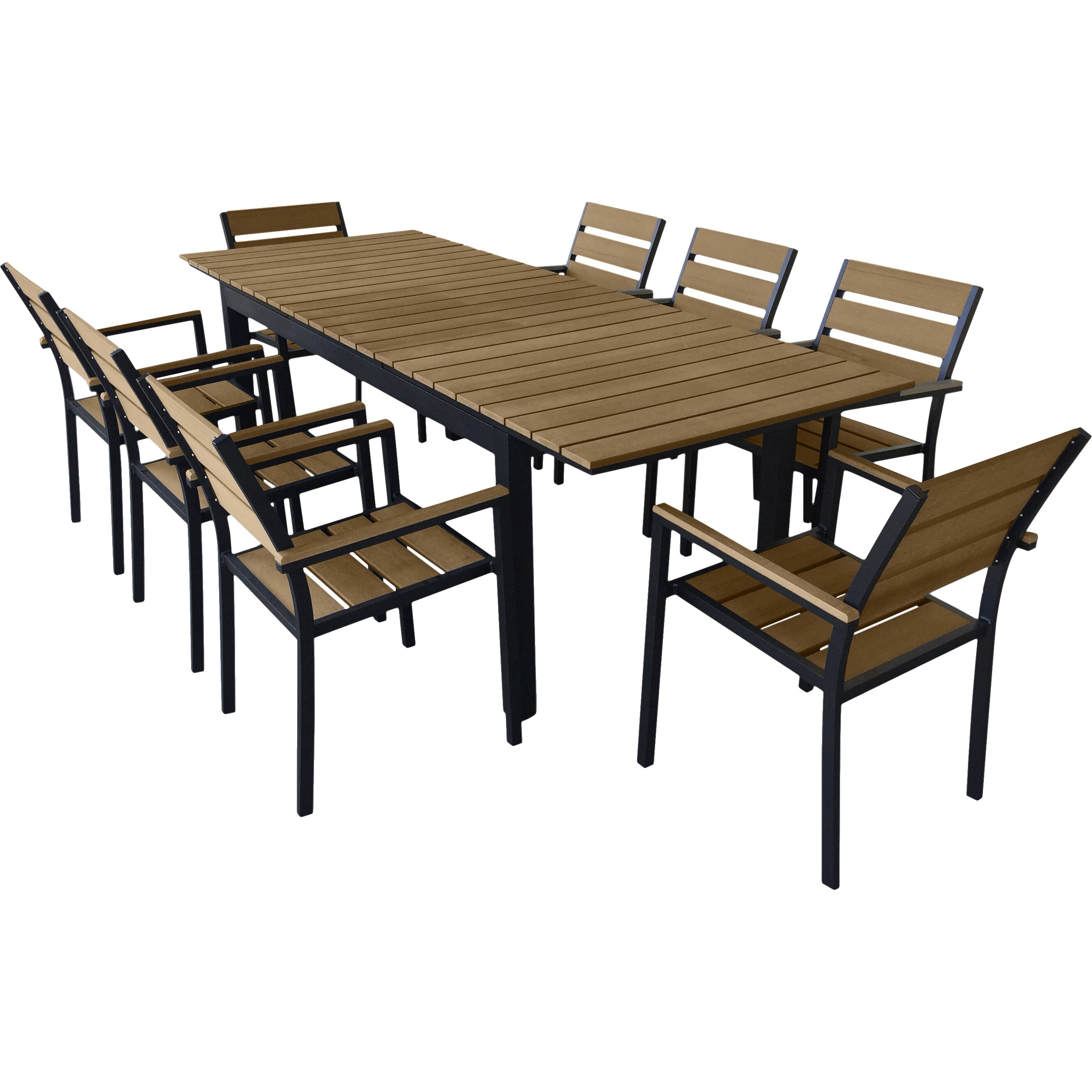 outdoor patio furniture eight person patio dining sets urban