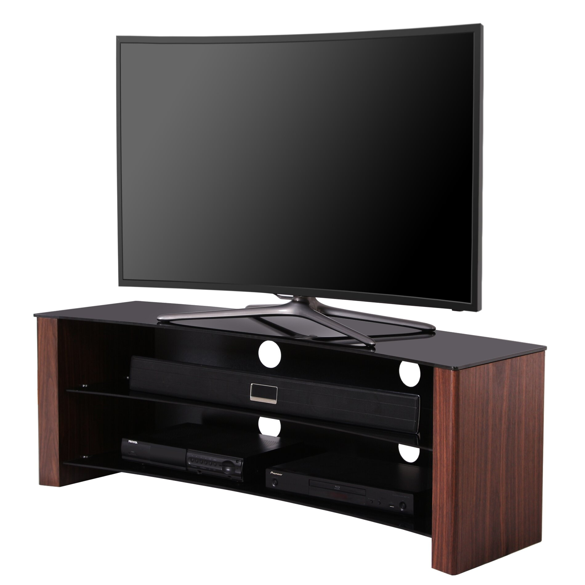 "Hokku Designs TV Stand for TVs up to 55"" & Reviews"