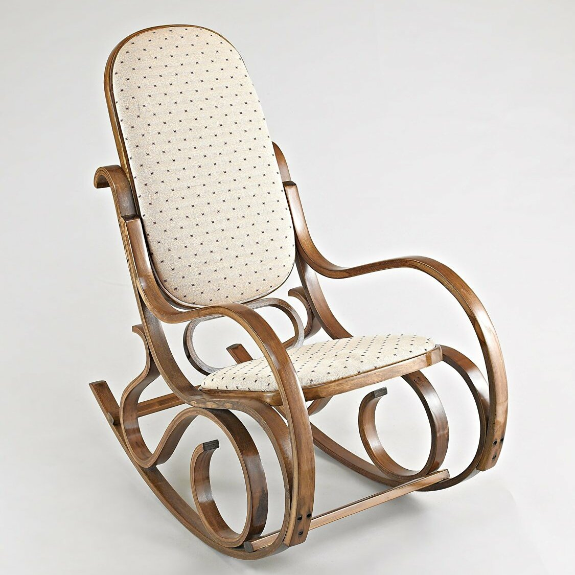 Bentwood Antique Rocking Chair by Hokku Designs