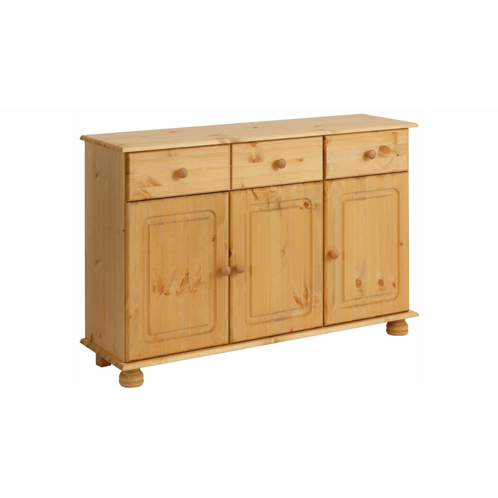 hokku designs marvel 3 door 3 drawer sideboard. Black Bedroom Furniture Sets. Home Design Ideas