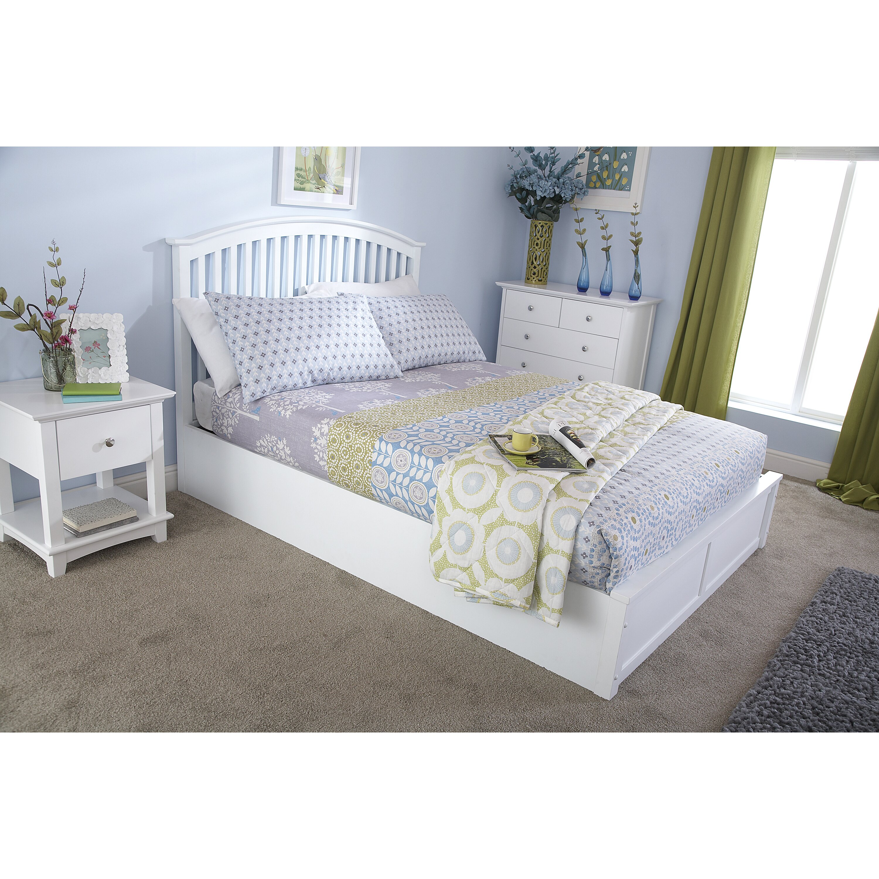 Ottoman In Bedroom Home Loft Concept Madrid Ottoman Bed Reviews Wayfaircouk