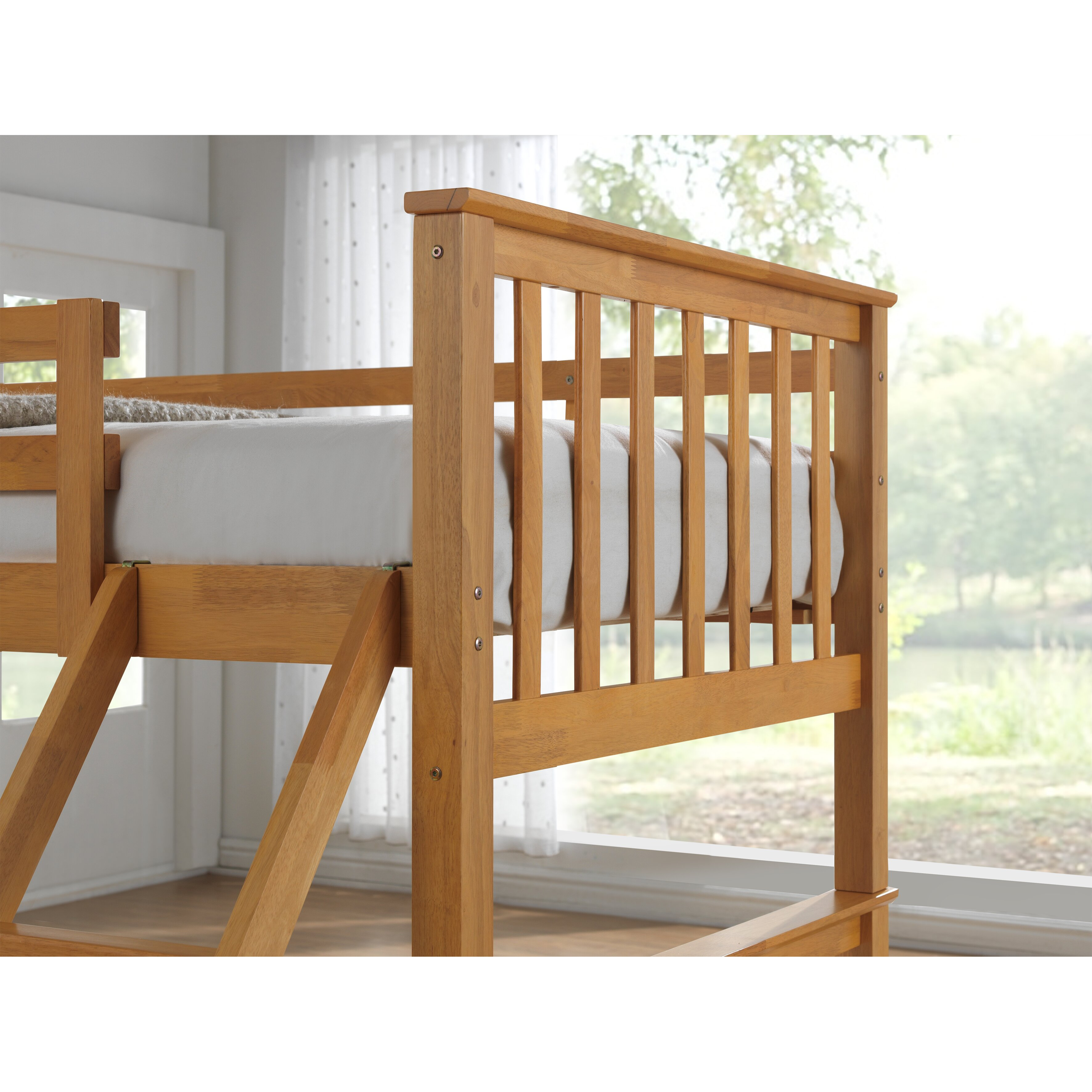 home loft concept mara triple sleeper bunk bed reviews. Black Bedroom Furniture Sets. Home Design Ideas