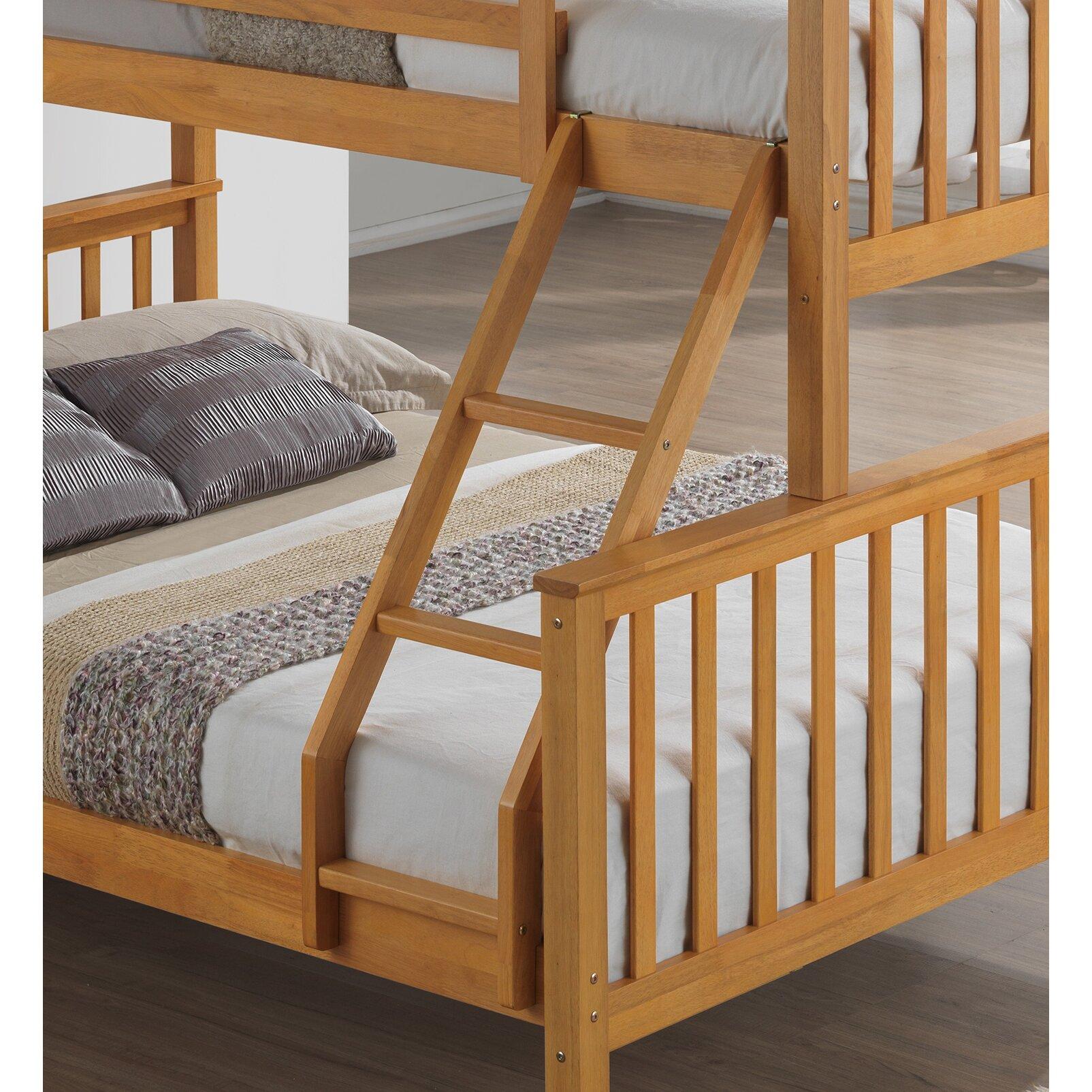 Home loft concept mara triple sleeper bunk bed reviews for Concept beds