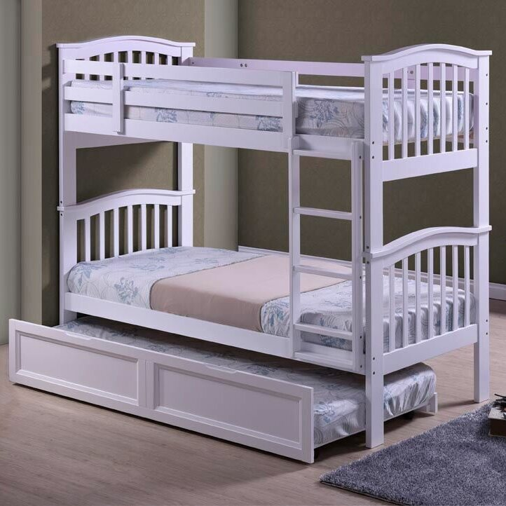home loft concept dehesa single bunk bed with trundle