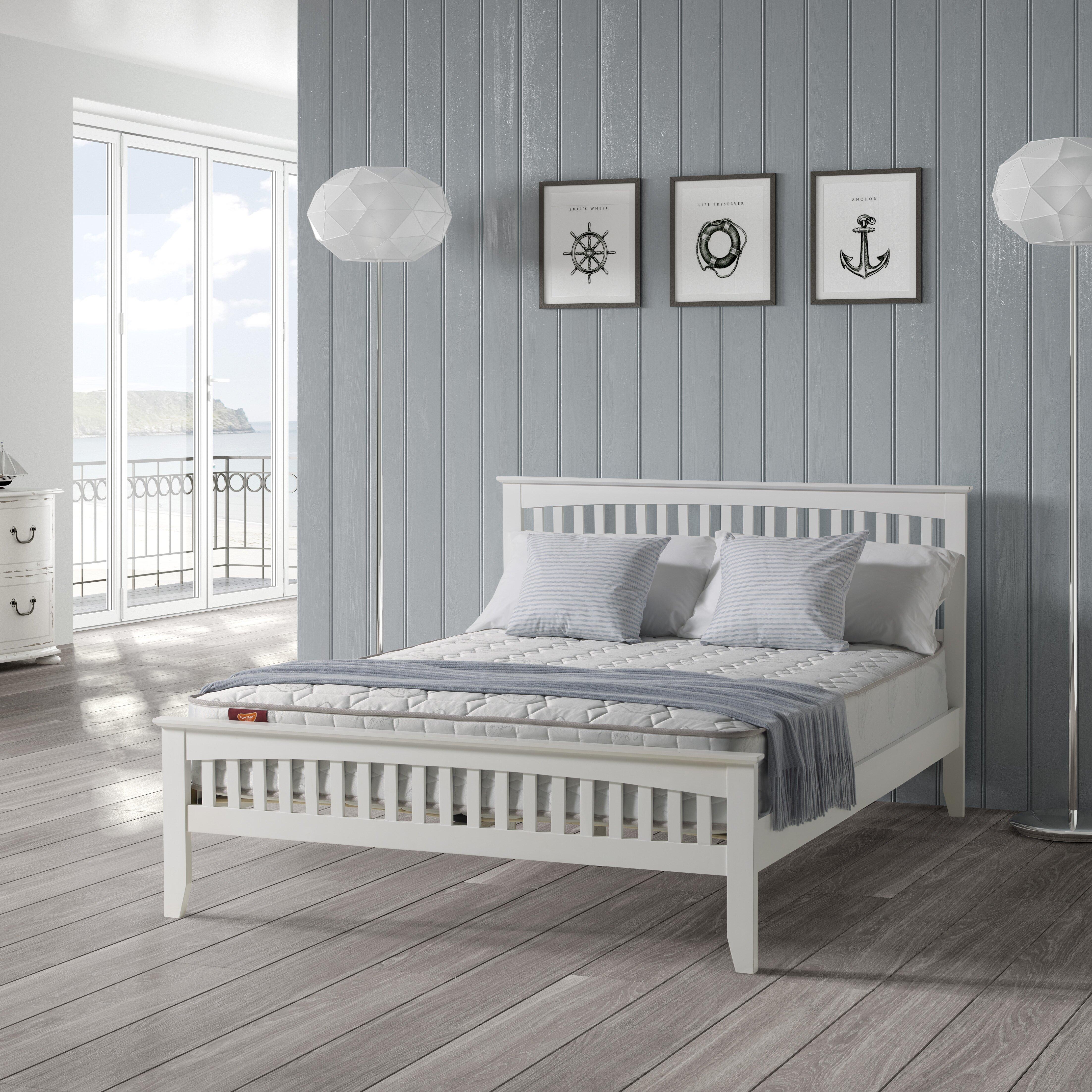 Home loft concept marina bed frame reviews for Home loft concept bunk bed
