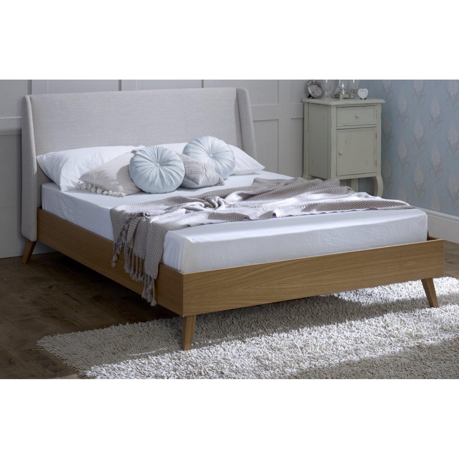 Home loft concept rose upholstered bed frame reviews for Home loft concept bunk bed