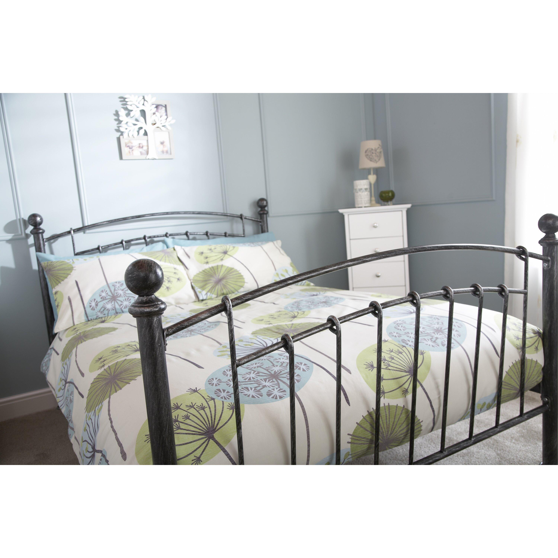 home loft concept brielle bed frame reviews. Black Bedroom Furniture Sets. Home Design Ideas