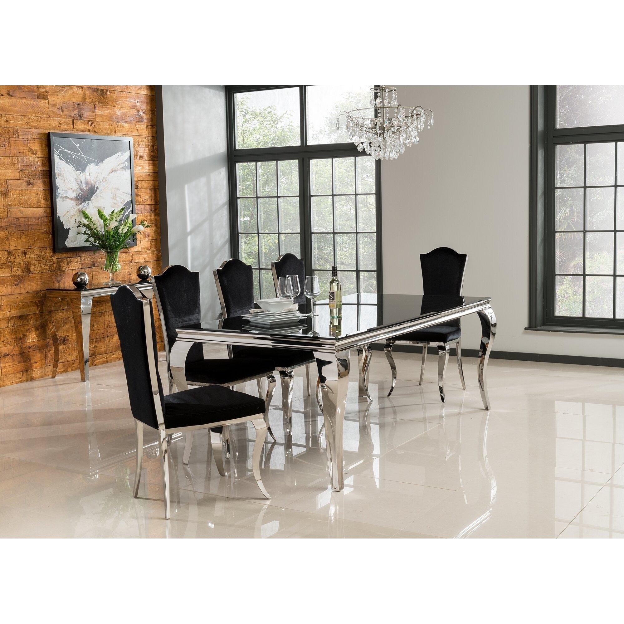 Hazelwood Home Louis Dining Table. Hazelwood Home Louis Dining Table   Reviews   Wayfair co uk