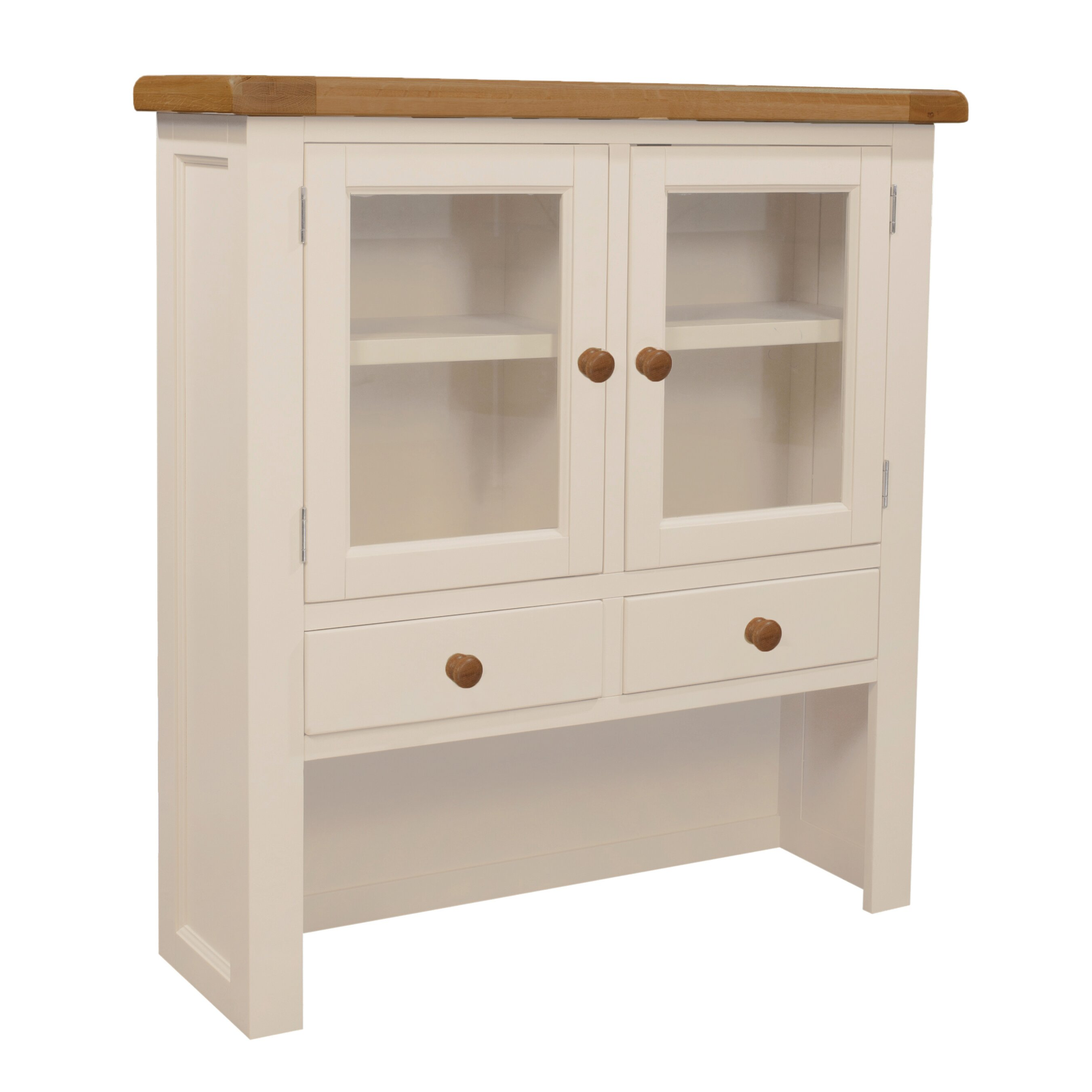 Hutch Display Cabinet Hazelwood Home Whitby Hutch Display Cabinet Wayfaircouk