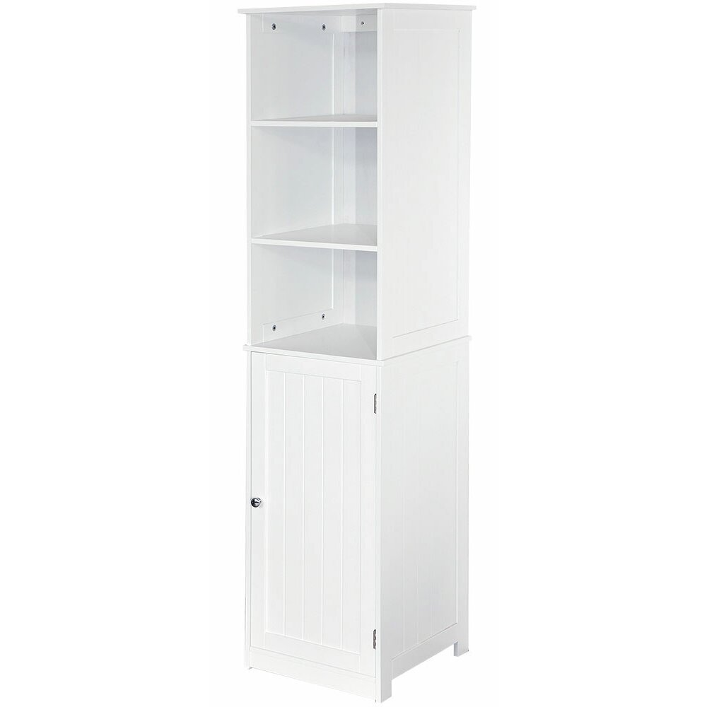 Wildon Home Vida Priano 40 X 160cm Free Standing Tall Bathroom Cabinet Reviews