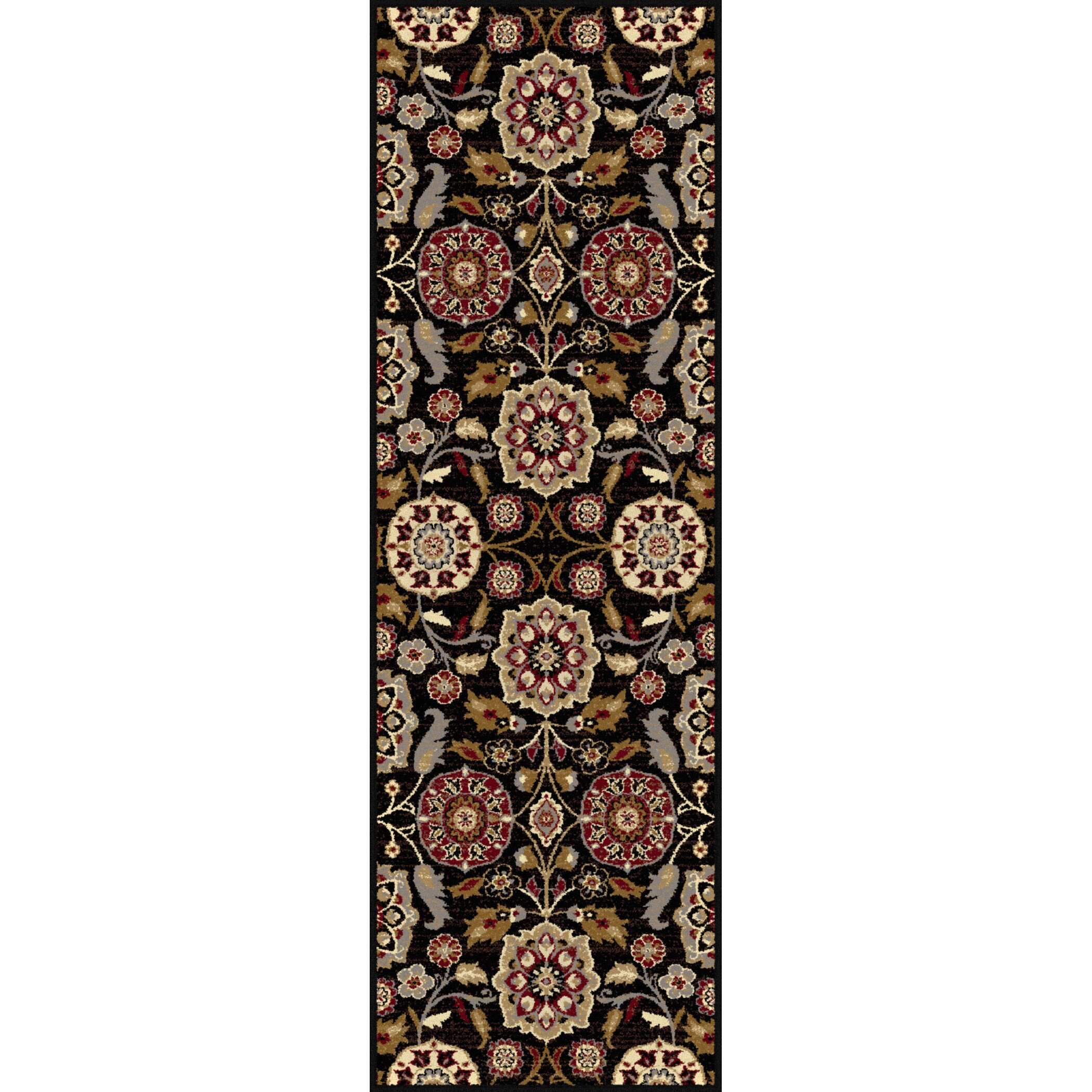 Threadbind Somerville Black Area Rug Amp Reviews Wayfair Ca