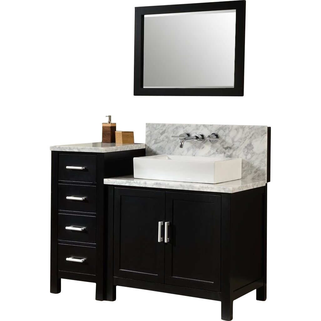"direct vanity sink horizon 84"" double premium bathroom vanity set"