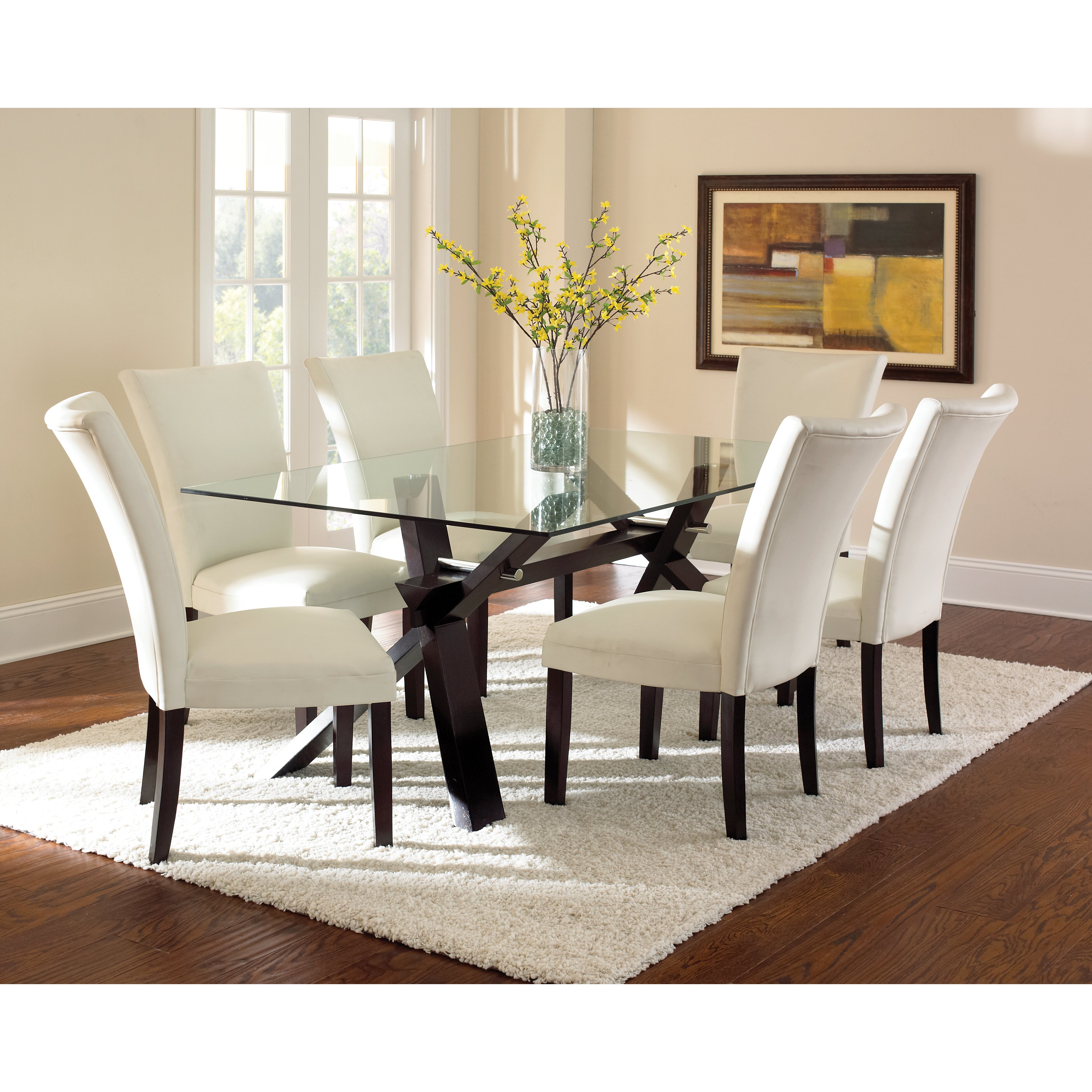rectangular kitchen dining tables c a~ rectangle kitchen table Hargrave Dining Table