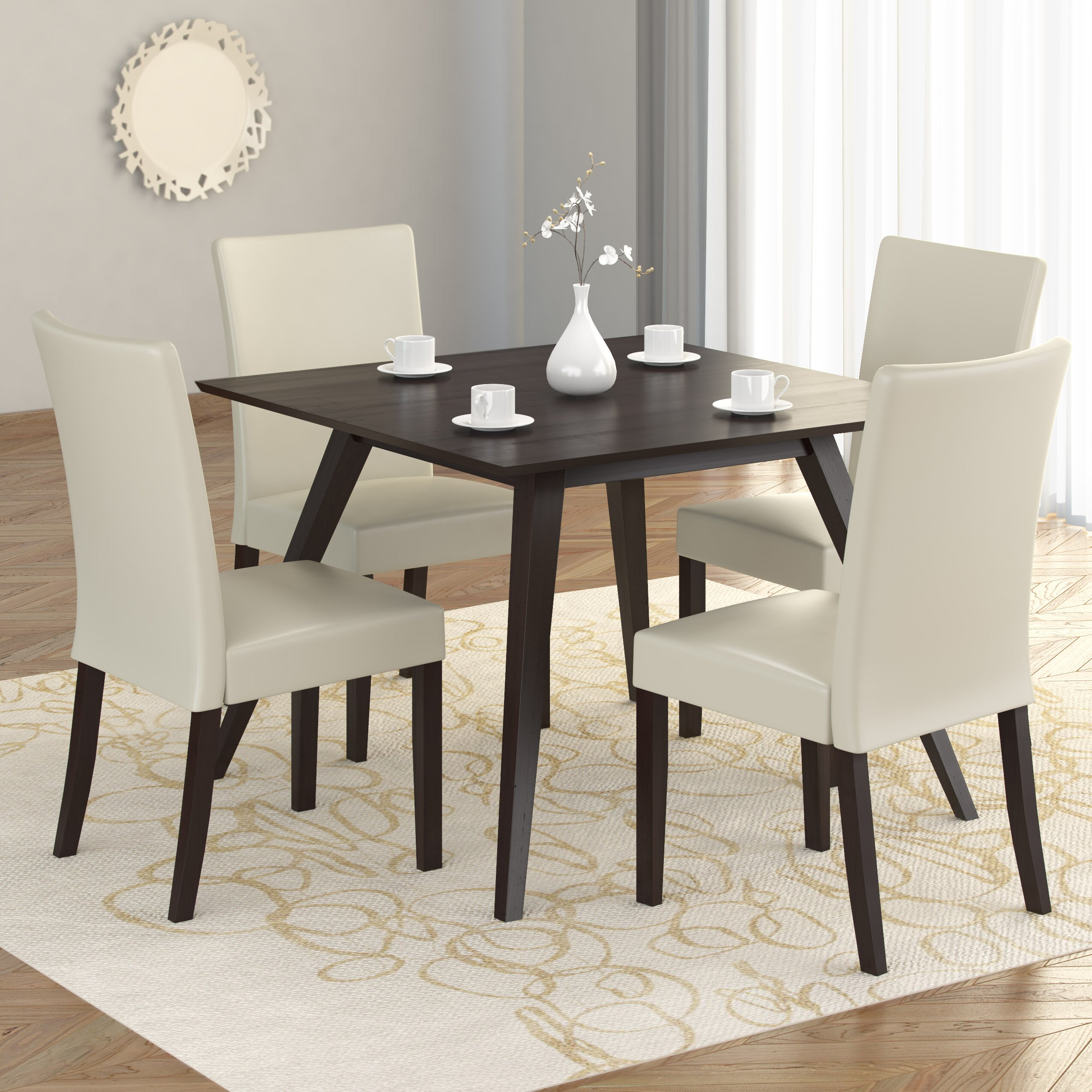 skirted parsons chairs dining room furniture gallery of