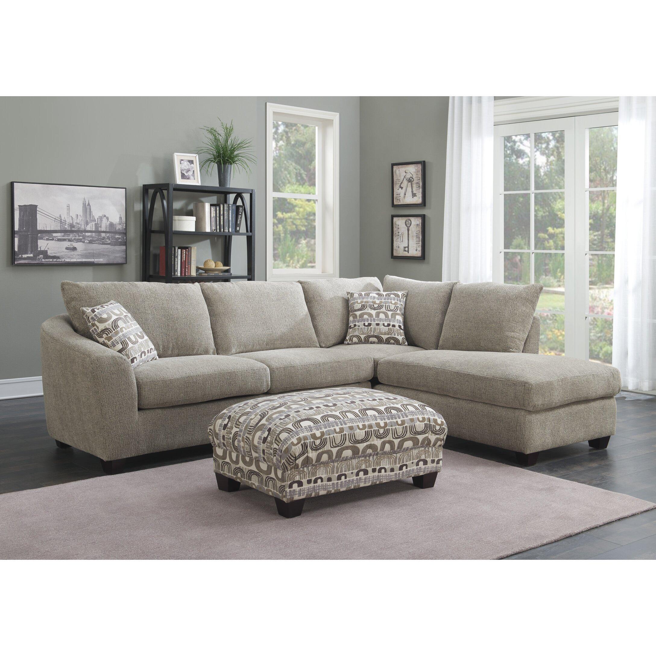 Modern Style Sectional Sofa hmmi